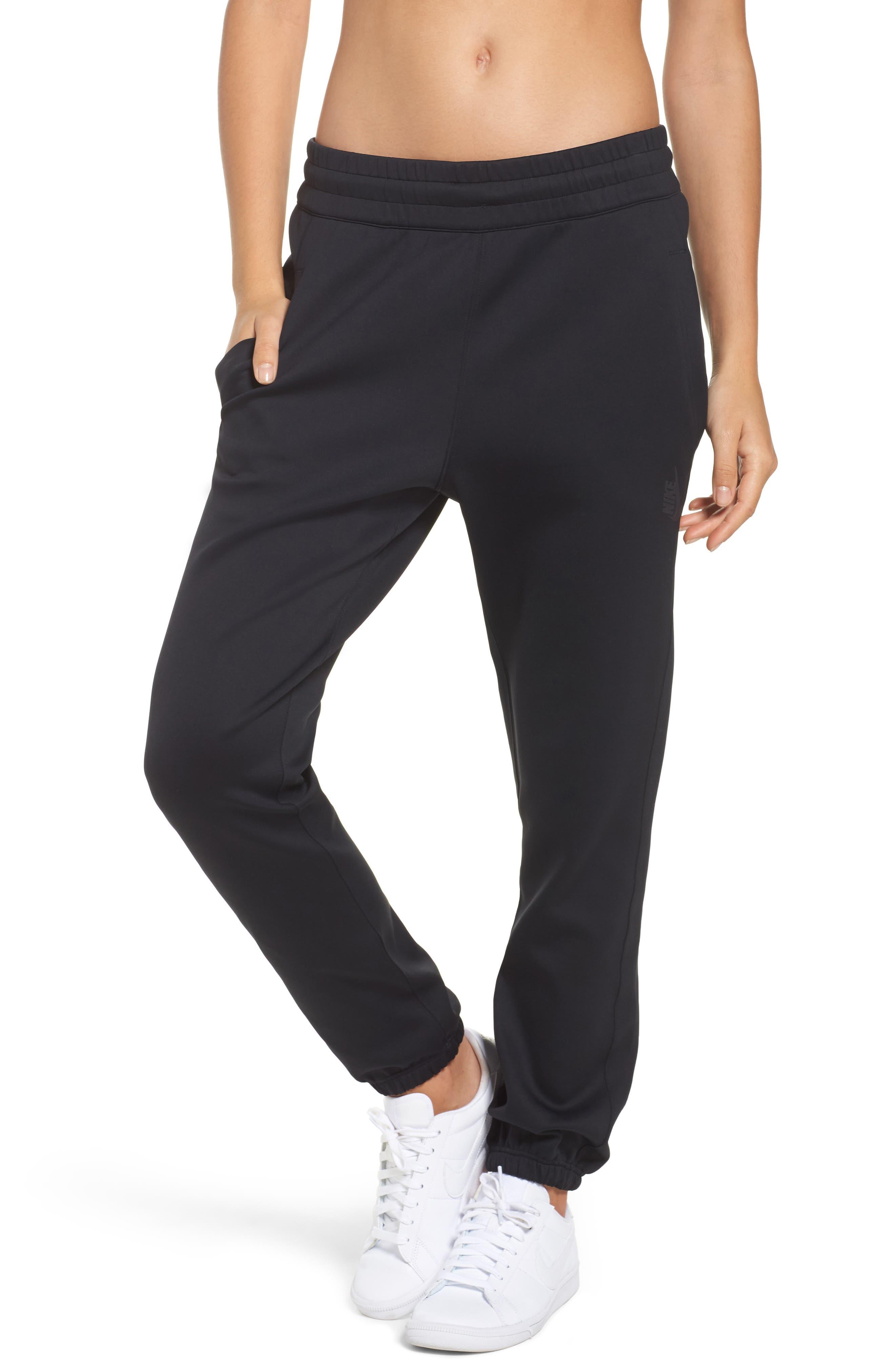 NikeLab Essentials Women's Fleece Pants,                             Main thumbnail 1, color,                             010