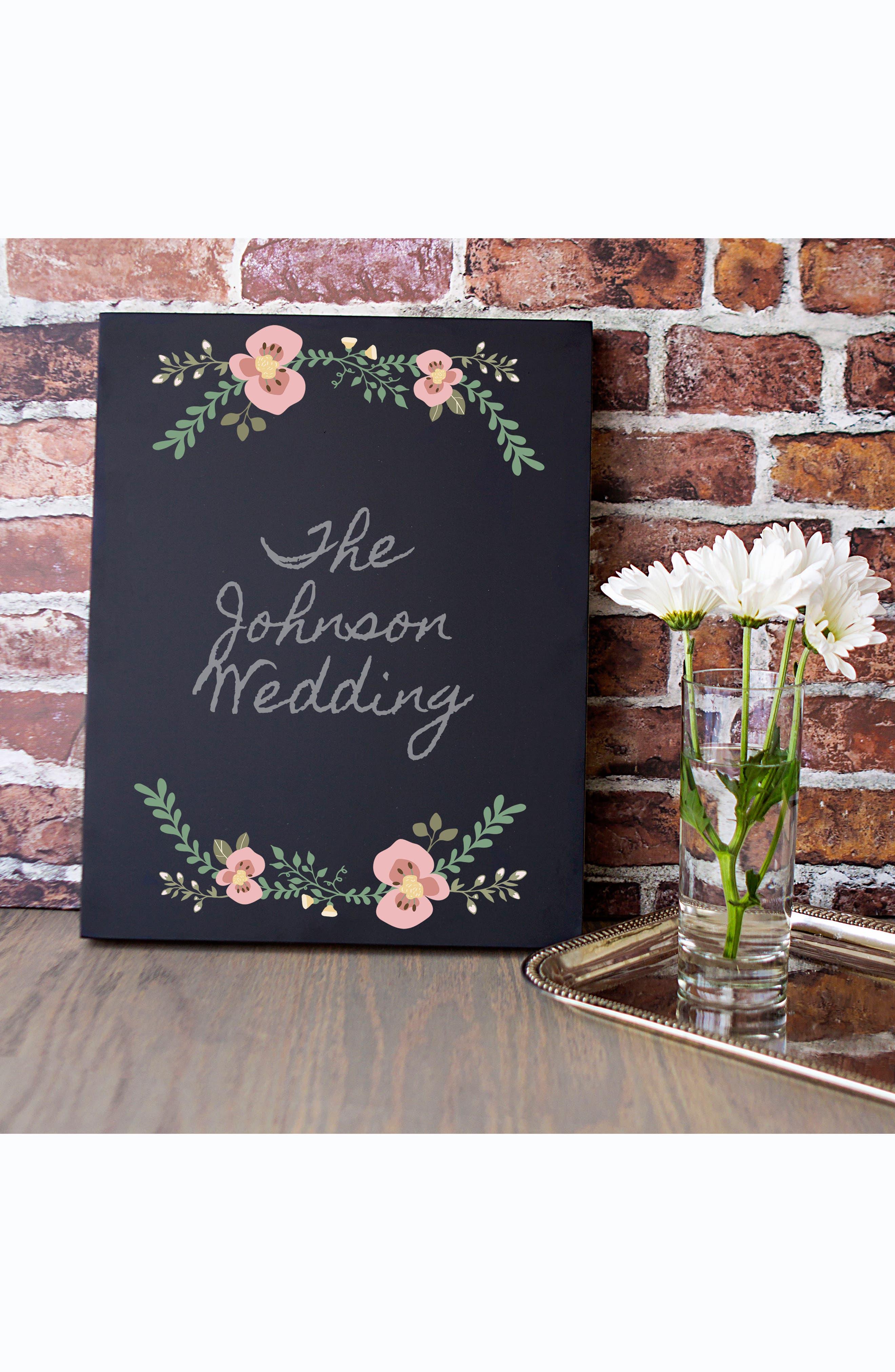 Wedding Chalkboard,                             Alternate thumbnail 3, color,                             001