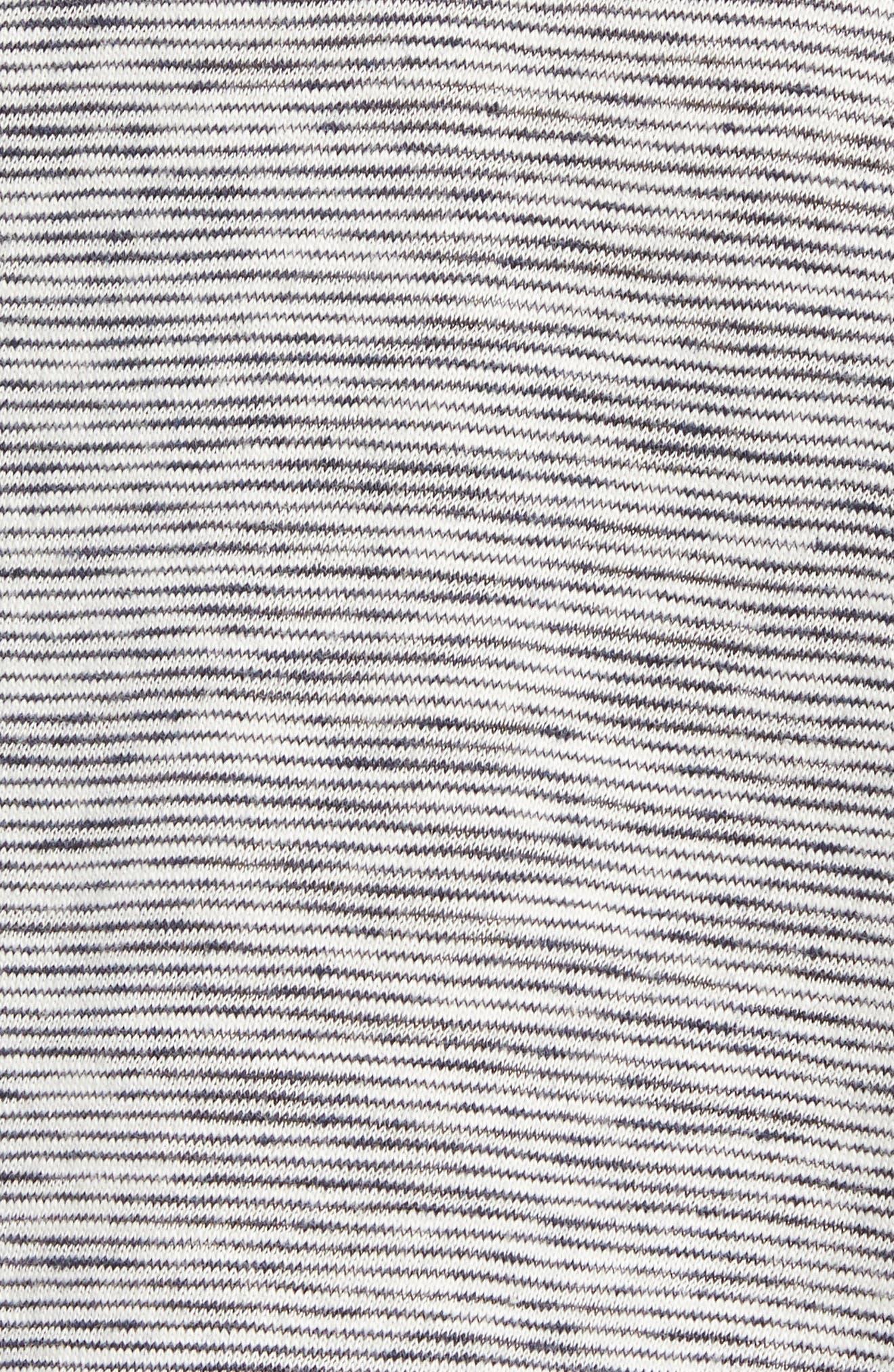 Owen T-Shirt,                             Alternate thumbnail 5, color,                             NAVY/ WHITE
