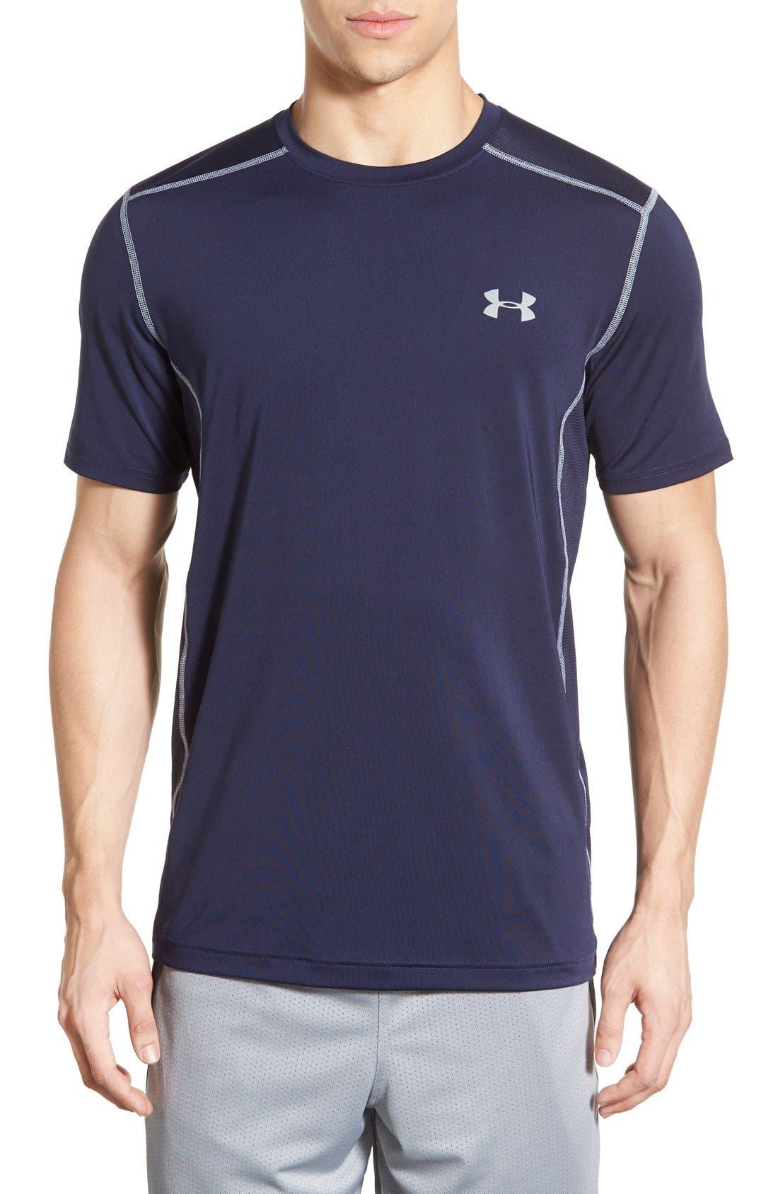 'Raid' HeatGear<sup>®</sup> Training T-Shirt,                             Main thumbnail 17, color,