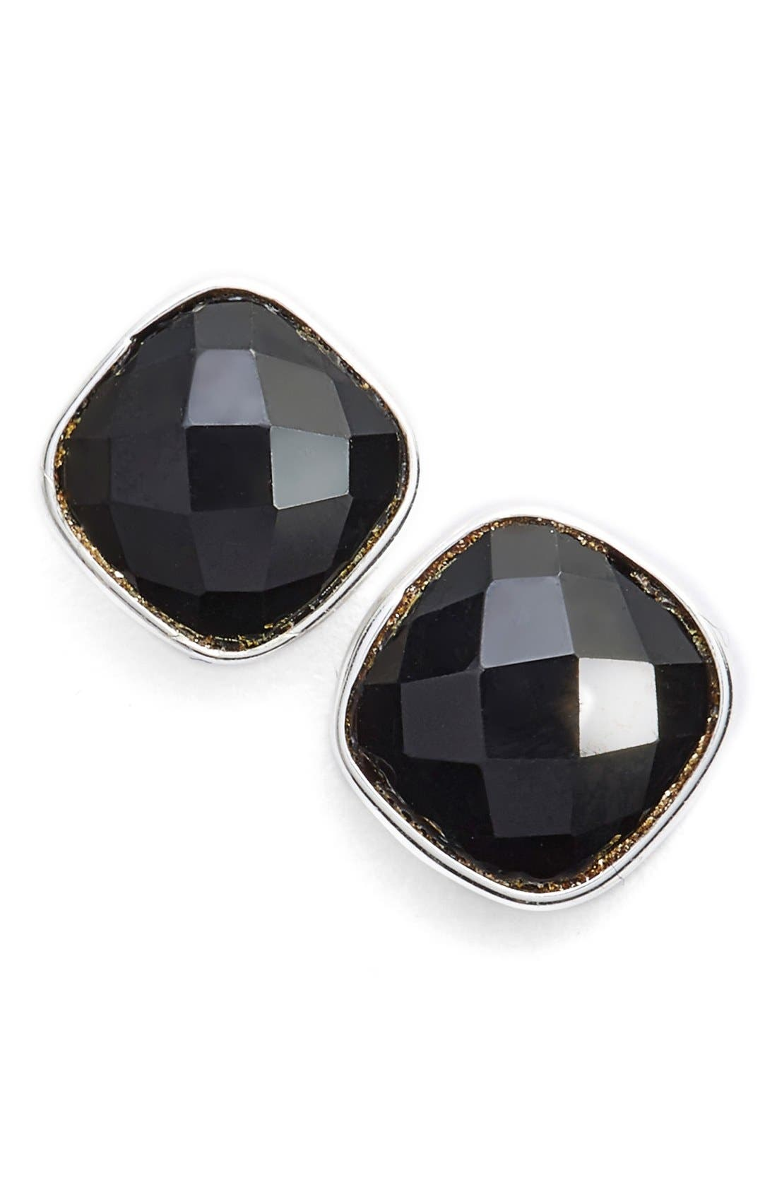 Semiprecious Stone Stud Earrings,                             Main thumbnail 1, color,                             040