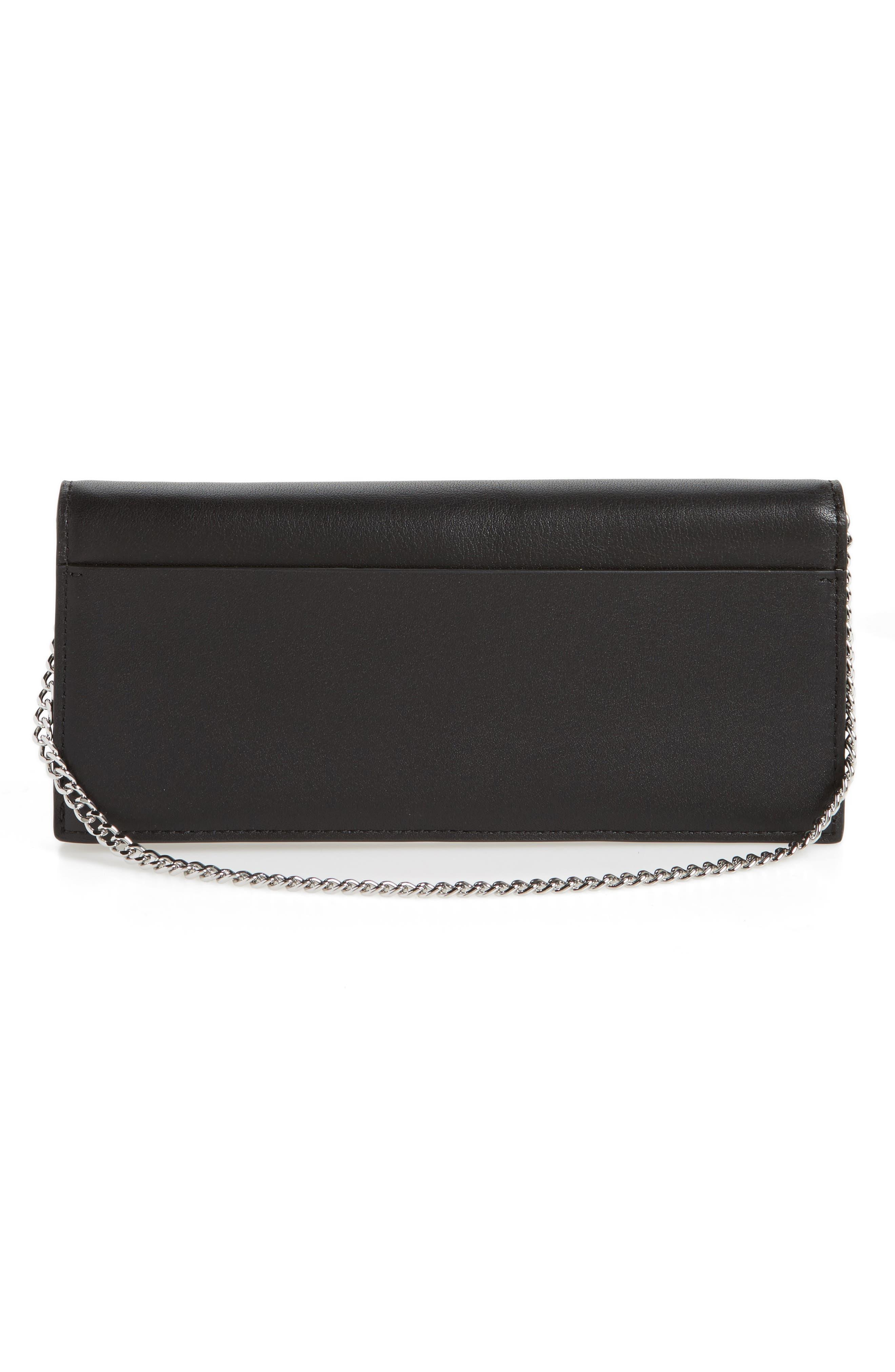 Keel Leather Wallet,                             Alternate thumbnail 3, color,                             001