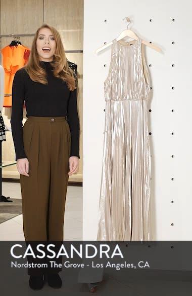 Pleated Metallic Dress, sales video thumbnail