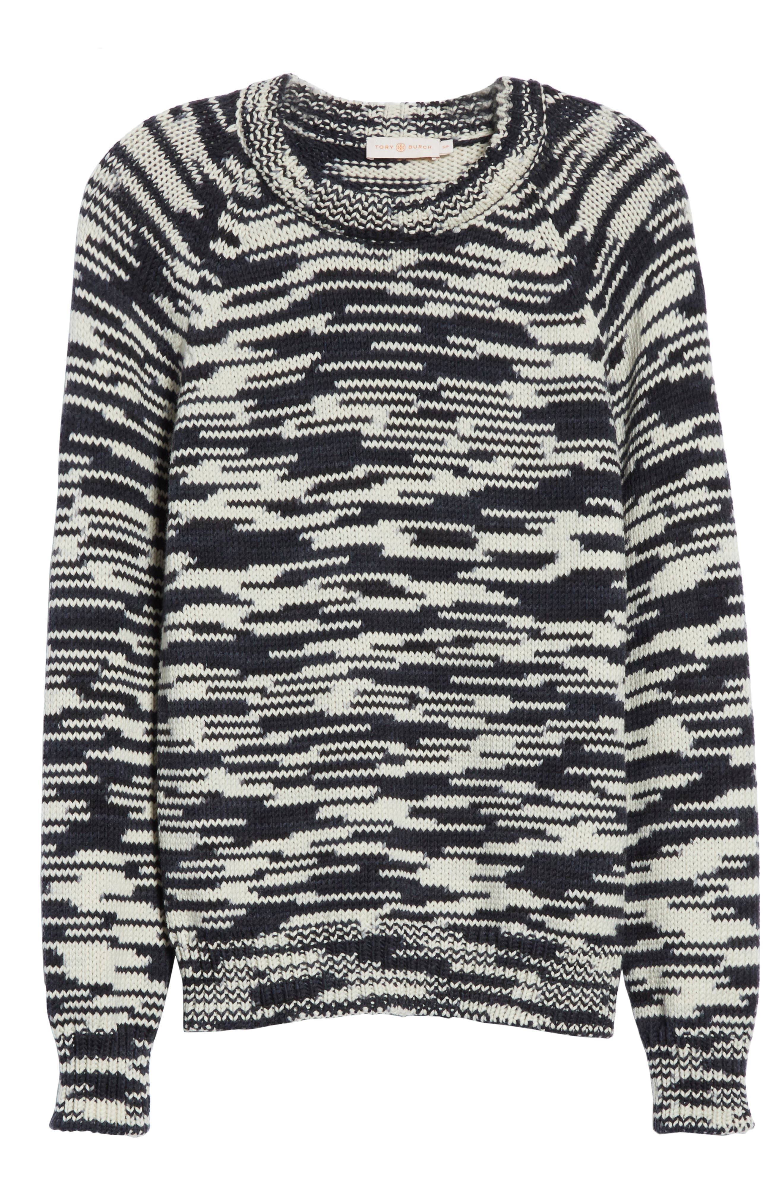Olivia Merino Wool Sweater,                             Alternate thumbnail 6, color,                             408