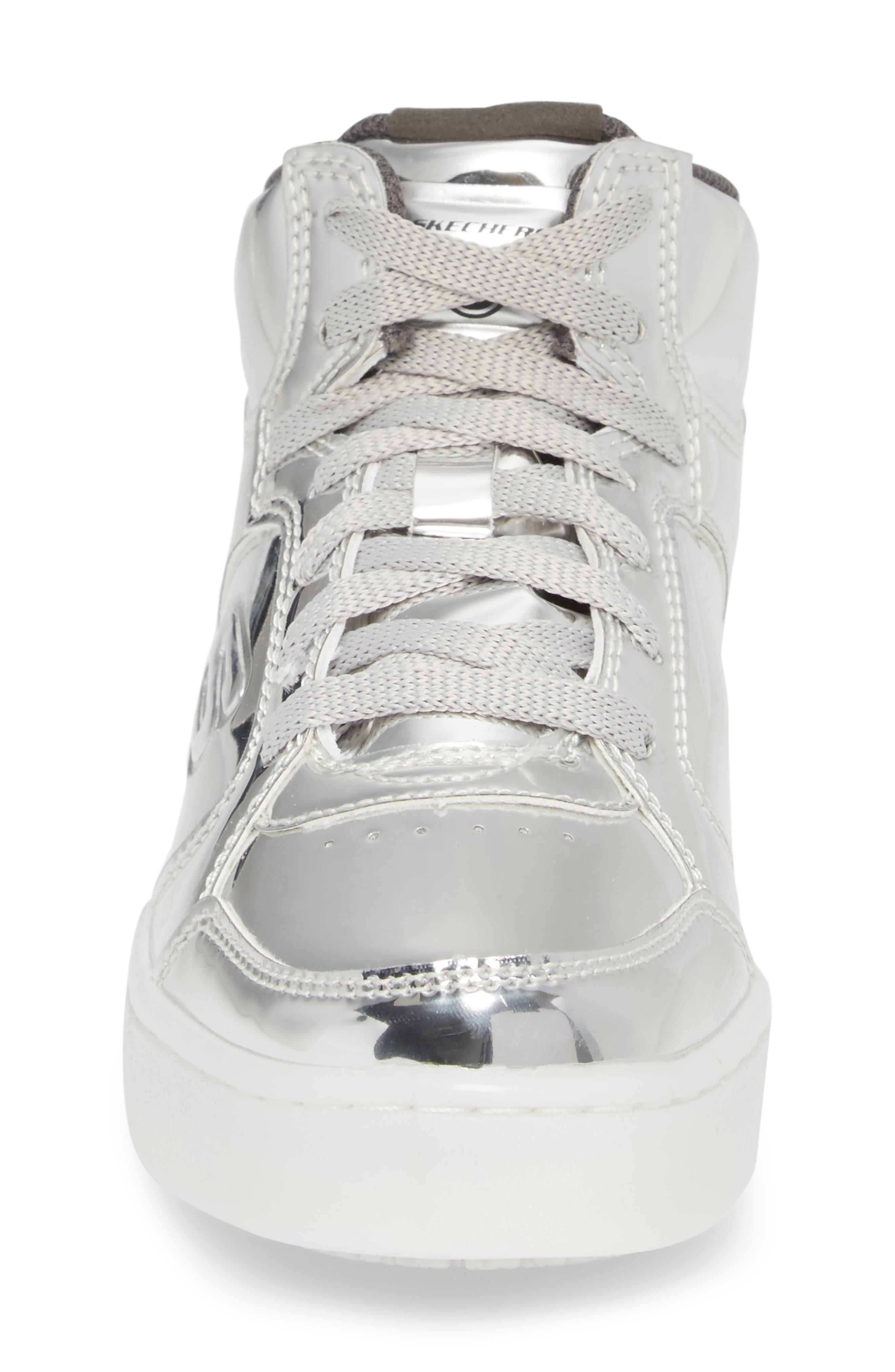 Energy Lights Metallic High Top Sneaker,                             Alternate thumbnail 12, color,