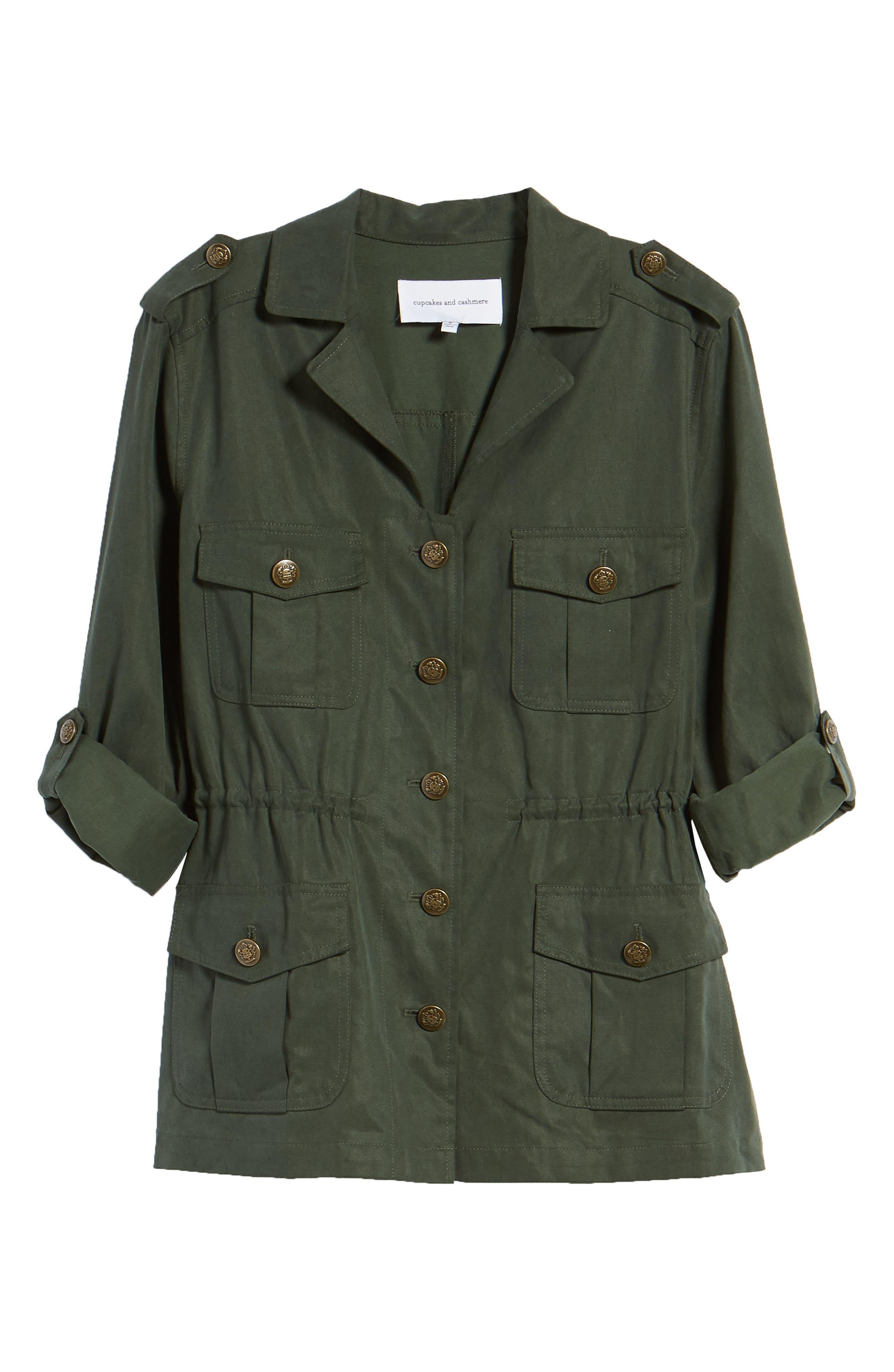 Brannen Military Jacket,                             Alternate thumbnail 6, color,                             310