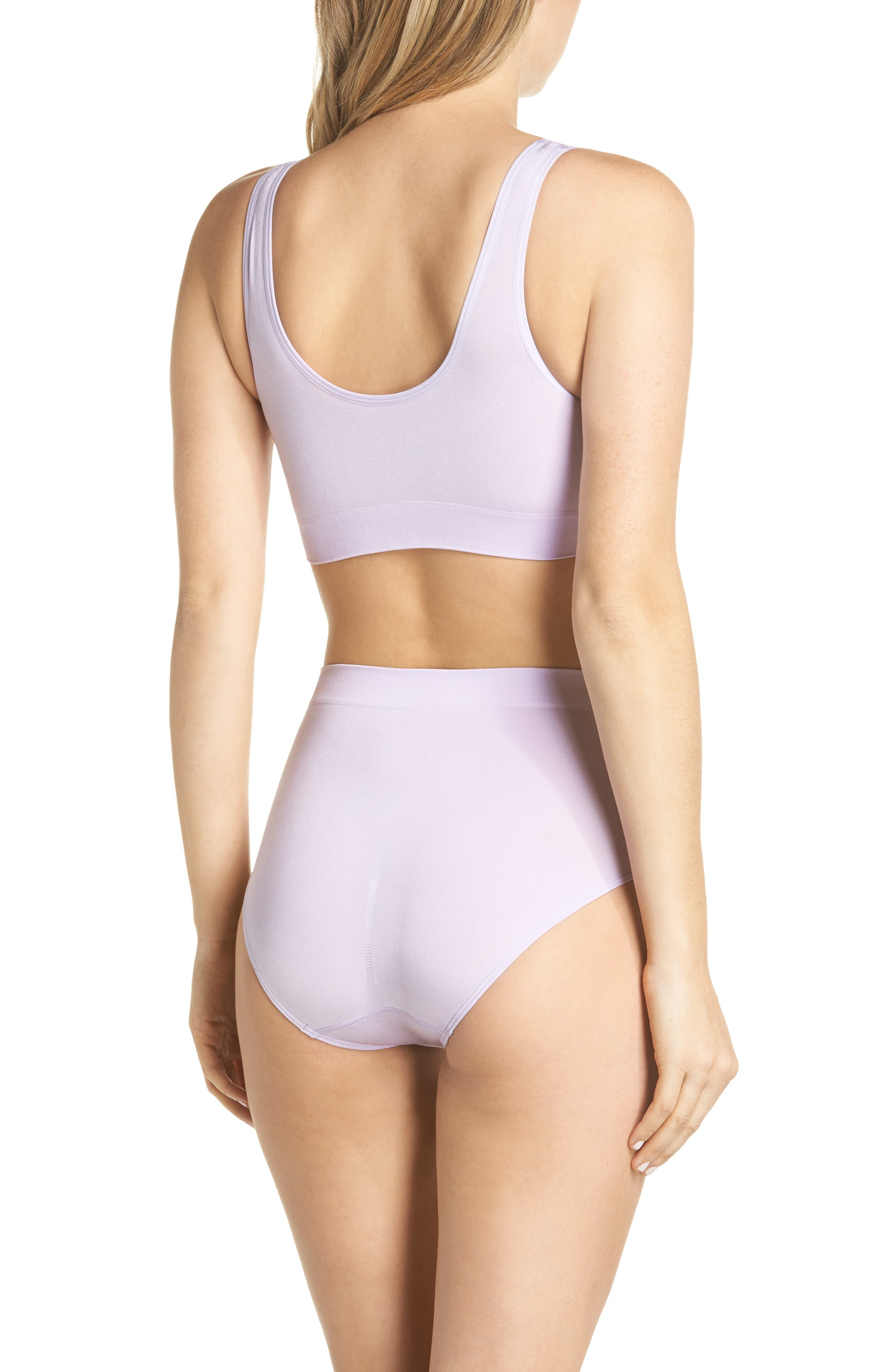B Smooth Briefs,                             Alternate thumbnail 8, color,                             PASTEL LILAC