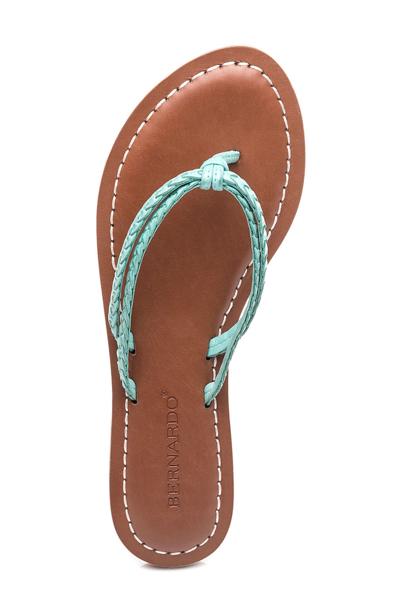 Bernardo Greta Braided Strap Sandal,                             Alternate thumbnail 31, color,