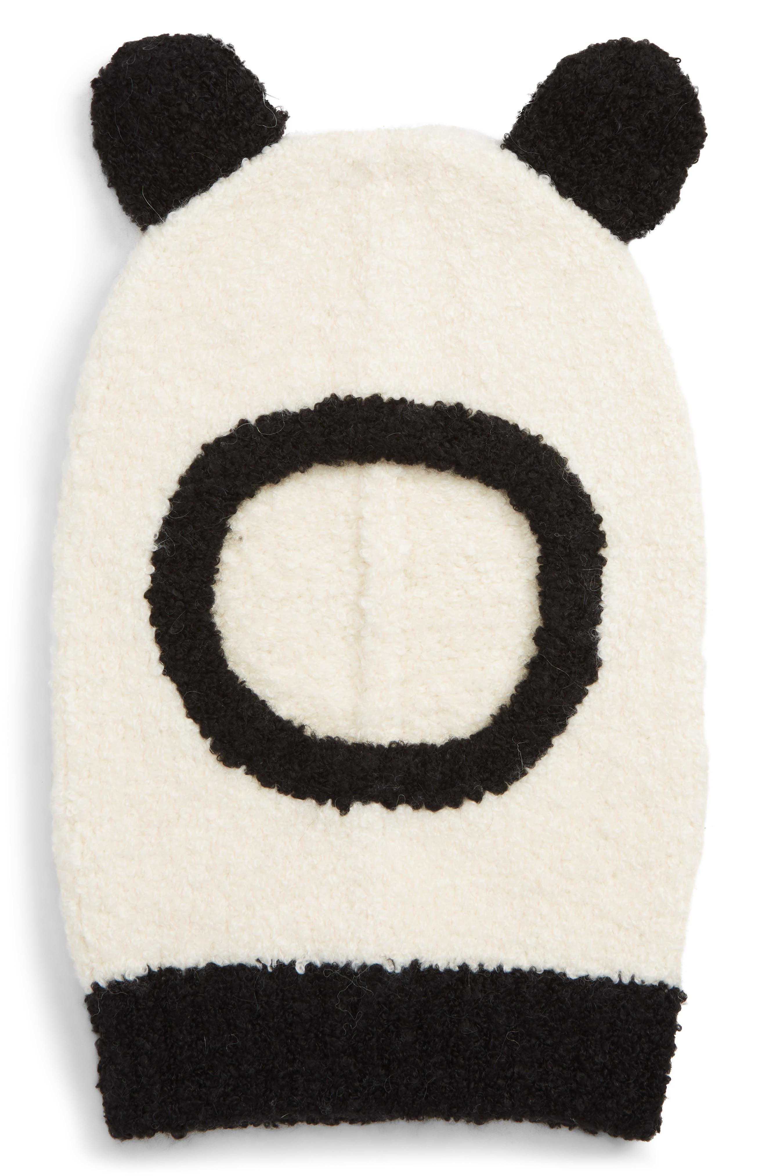 Panda Balaclava,                         Main,                         color, BLACK CHAMPAGNE