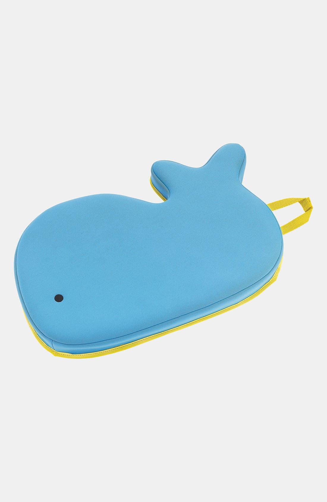 'Moby' Bath Kneeler,                             Main thumbnail 1, color,                             BLUE W/ YELLOW TRIM
