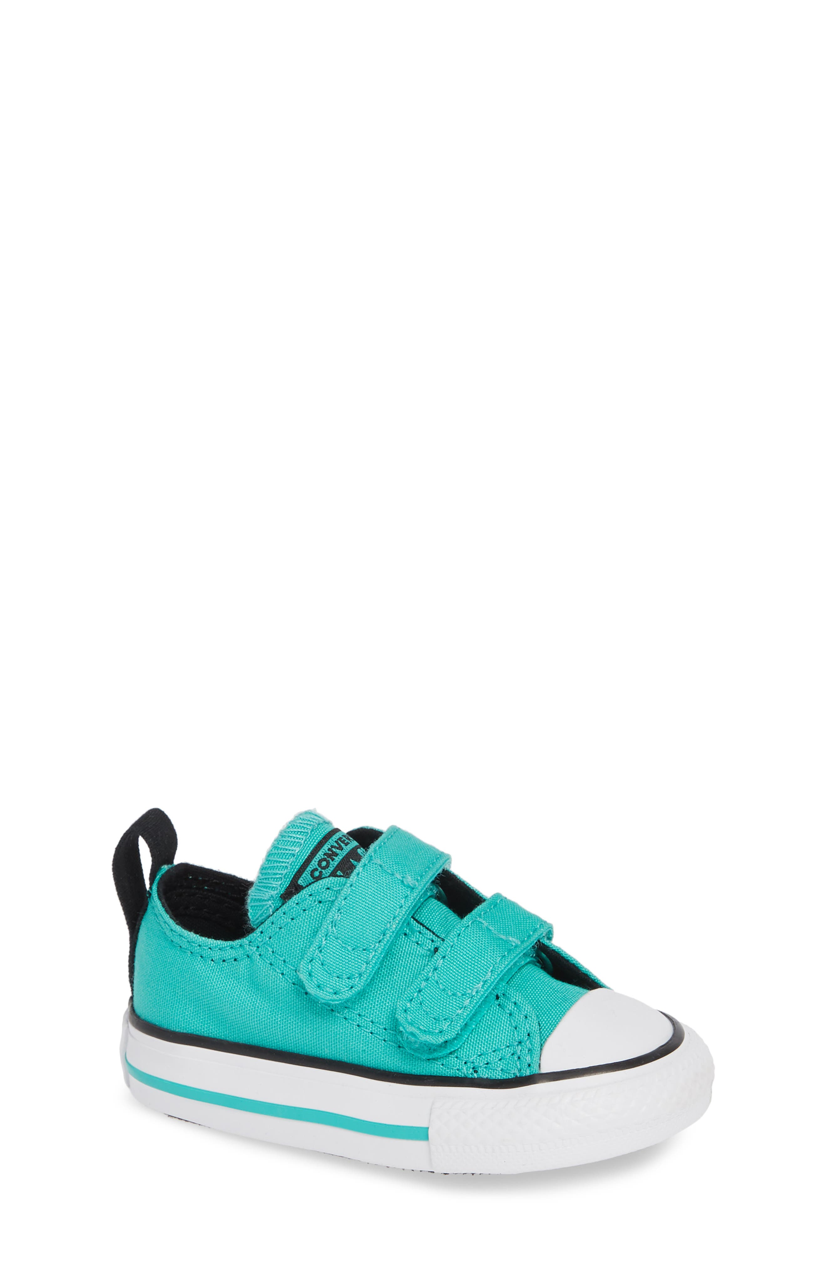 Chuck Taylor<sup>®</sup> 'Double Strap' Sneaker,                             Main thumbnail 1, color,                             PURE TEAL