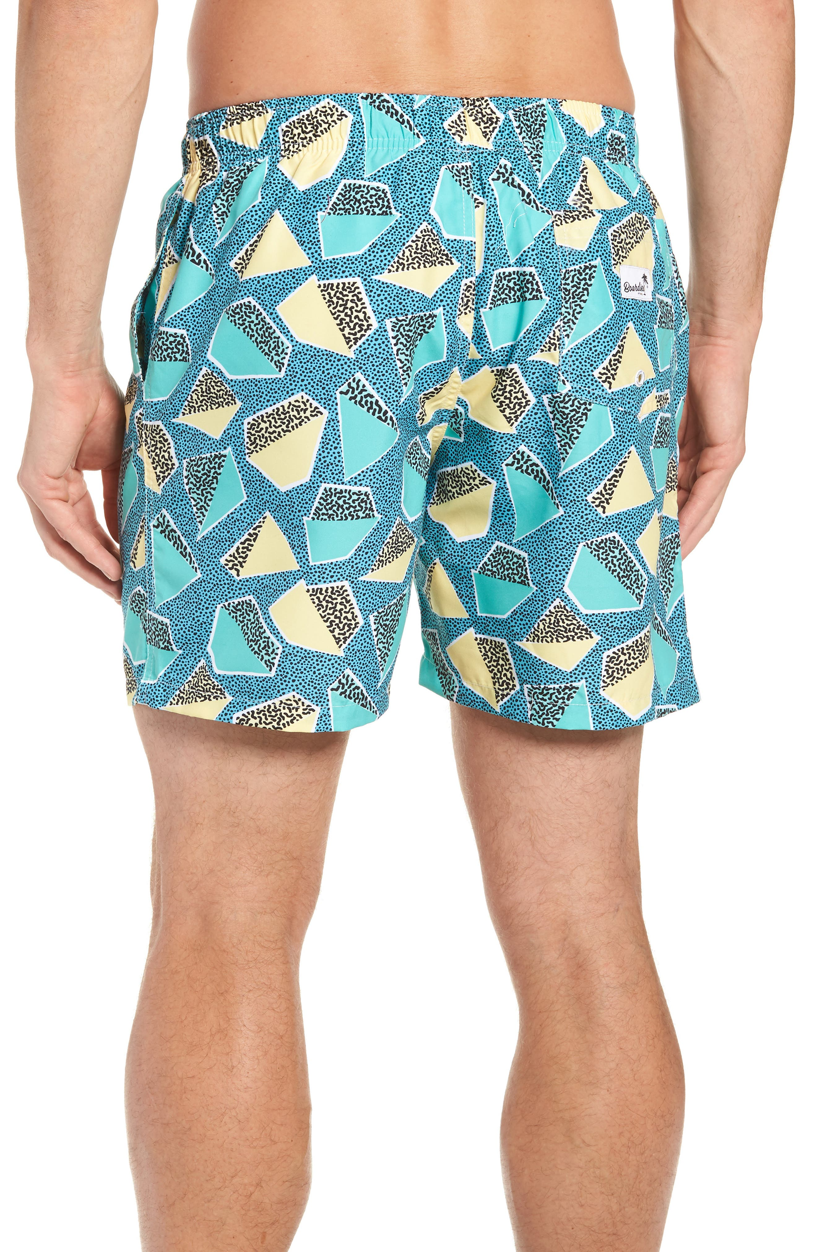 Everglades Swim Trunks,                             Alternate thumbnail 2, color,                             GREEN