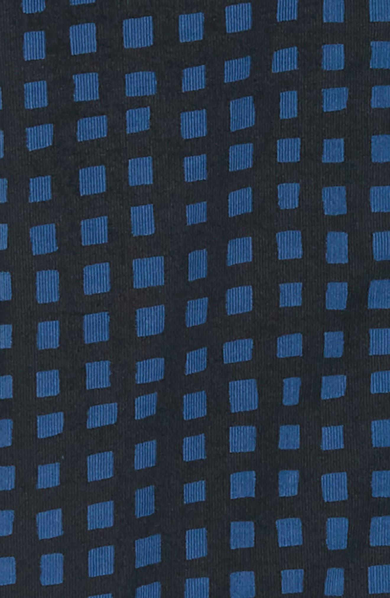 Gridlock Regular Fit Corduroy Shirt,                             Alternate thumbnail 6, color,                             FATHOM BLUE