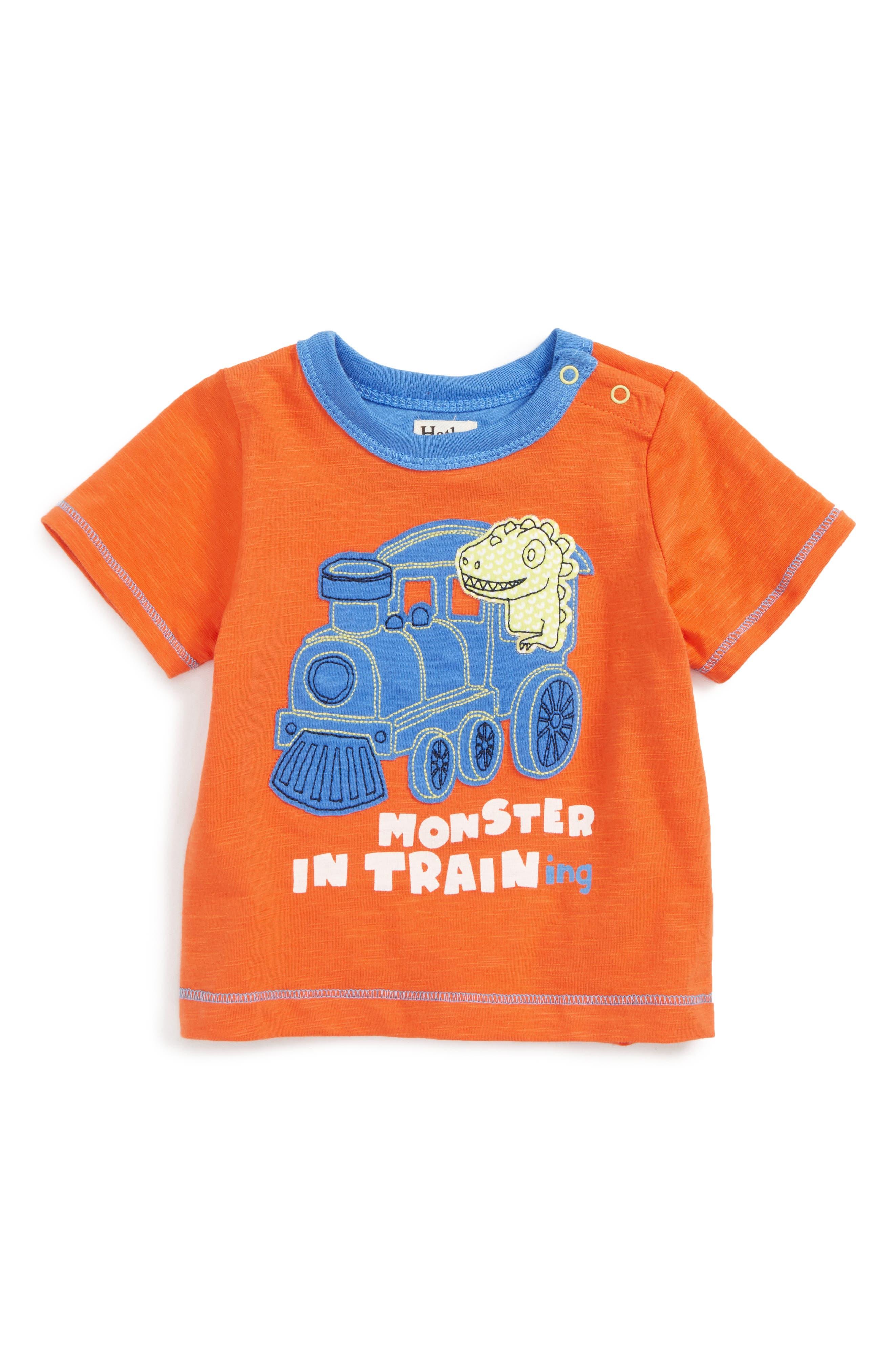 Appliqué T-Shirt,                         Main,                         color, 800