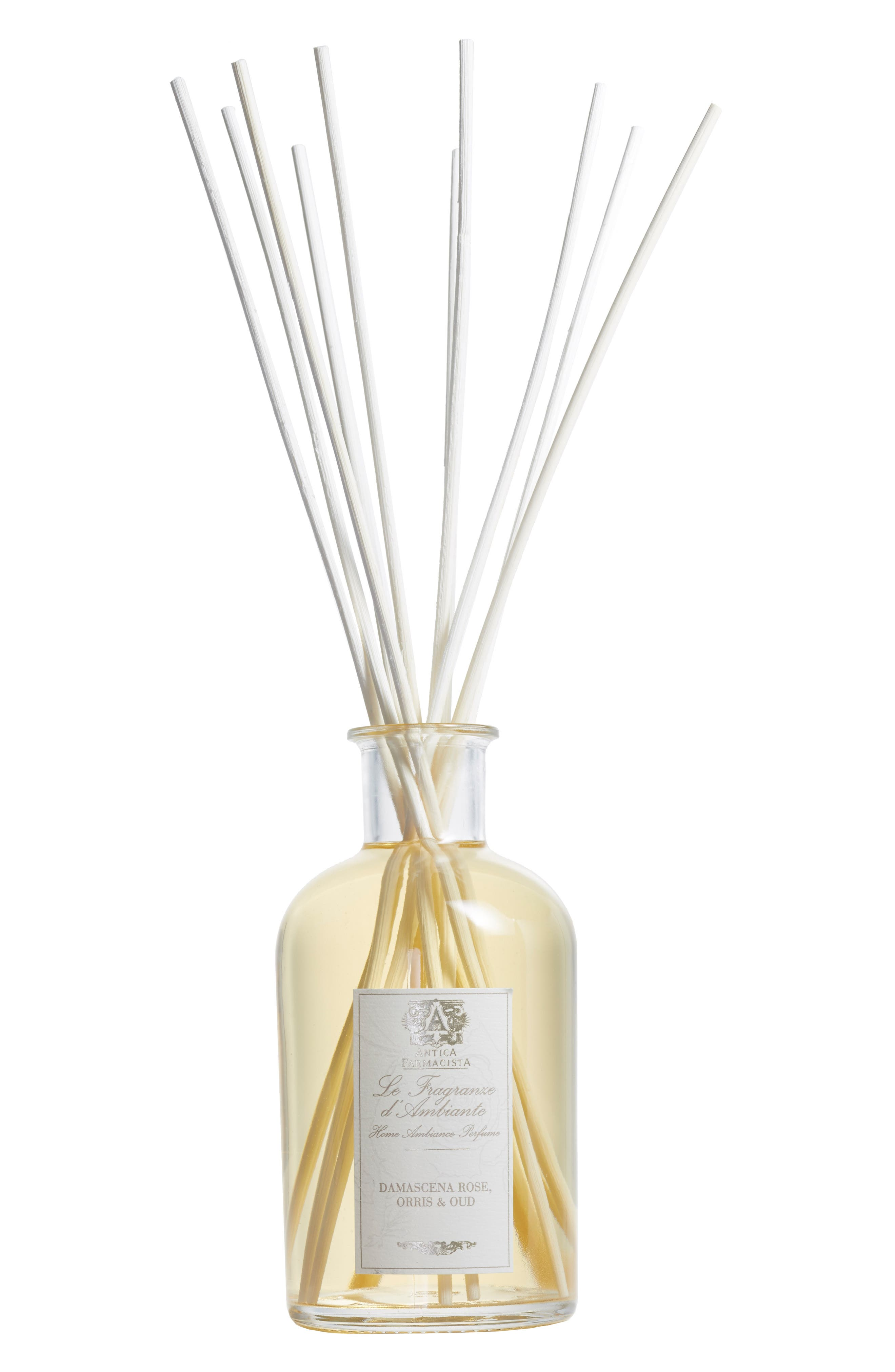 Damascena Rose, Orris & Oud Home Ambiance Perfume,                             Main thumbnail 1, color,                             NO COLOR