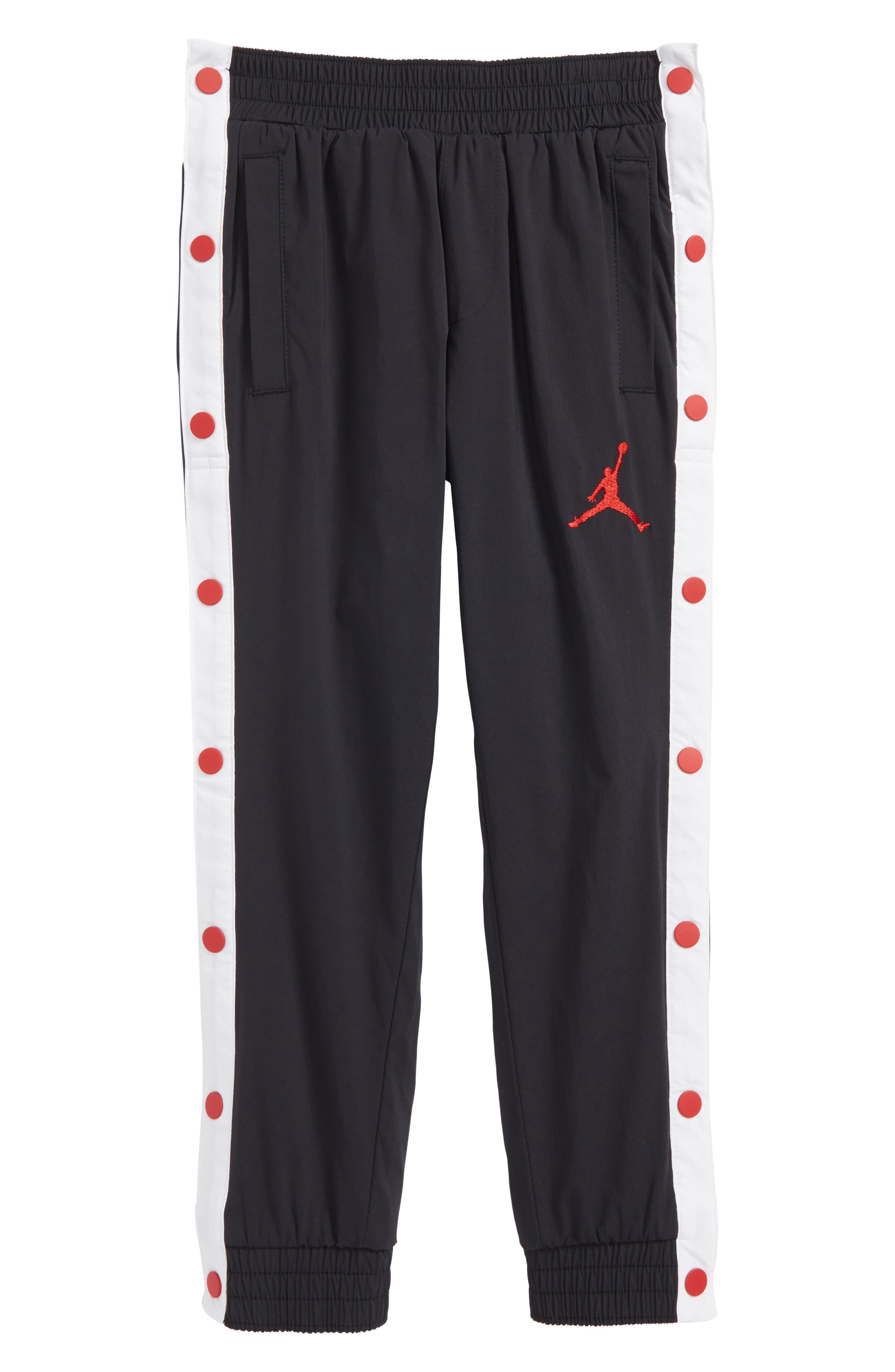 Jordan AJ '90s Snapaway Sweatpants,                             Main thumbnail 1, color,                             004