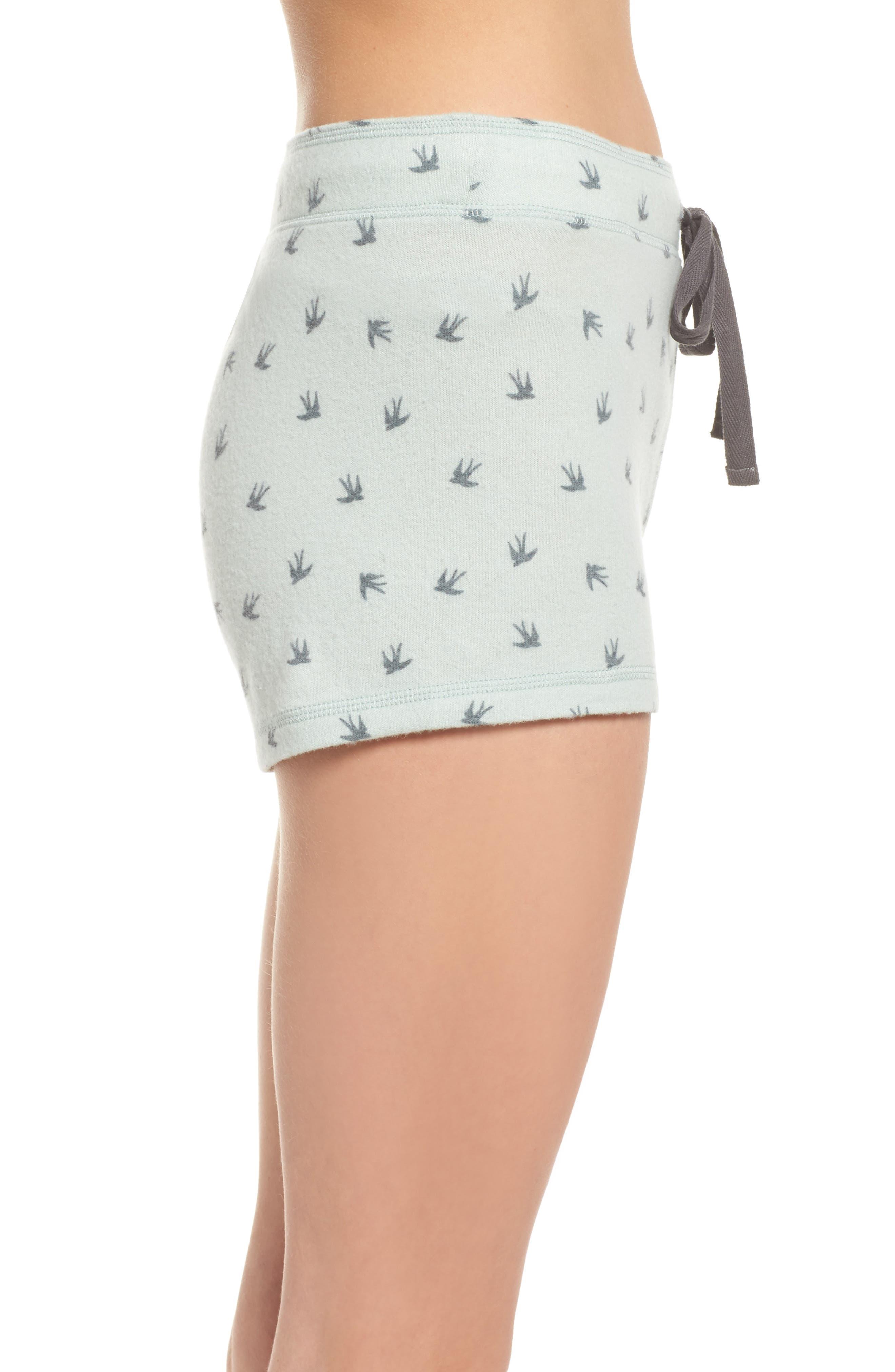 Peachy Pajama Shorts,                             Alternate thumbnail 8, color,