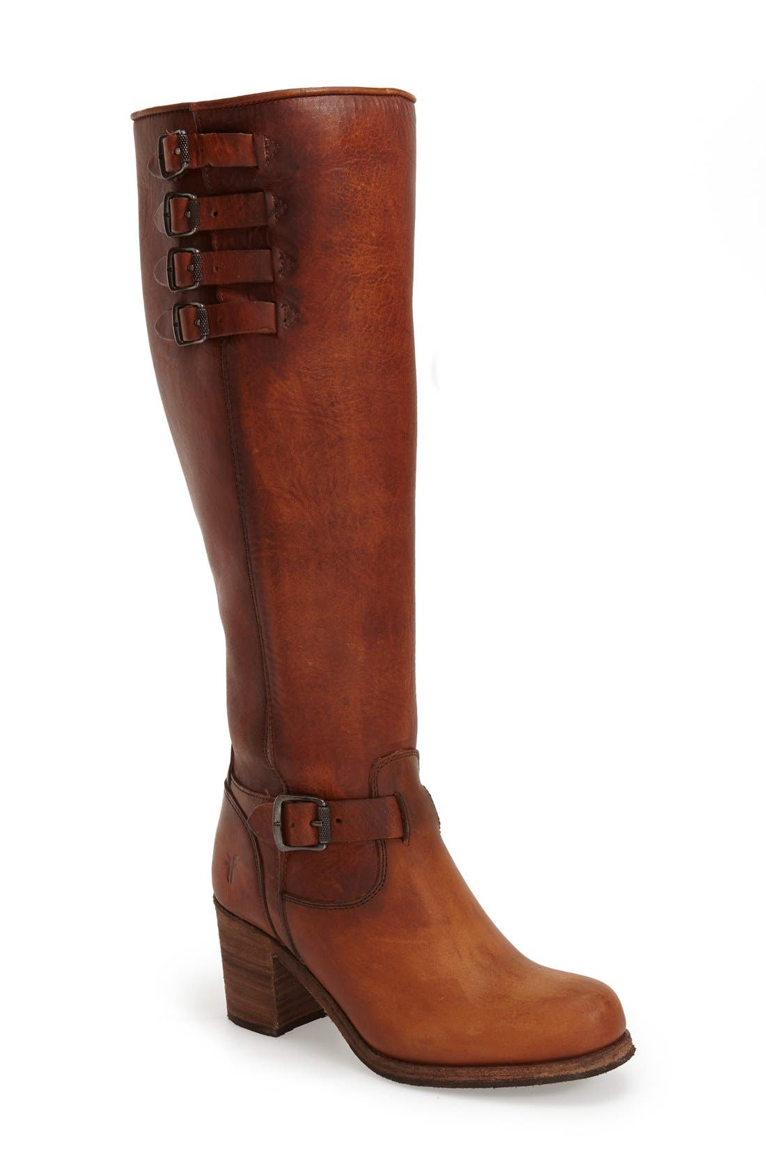 'Kelly' Belted Boot,                             Main thumbnail 1, color,                             235