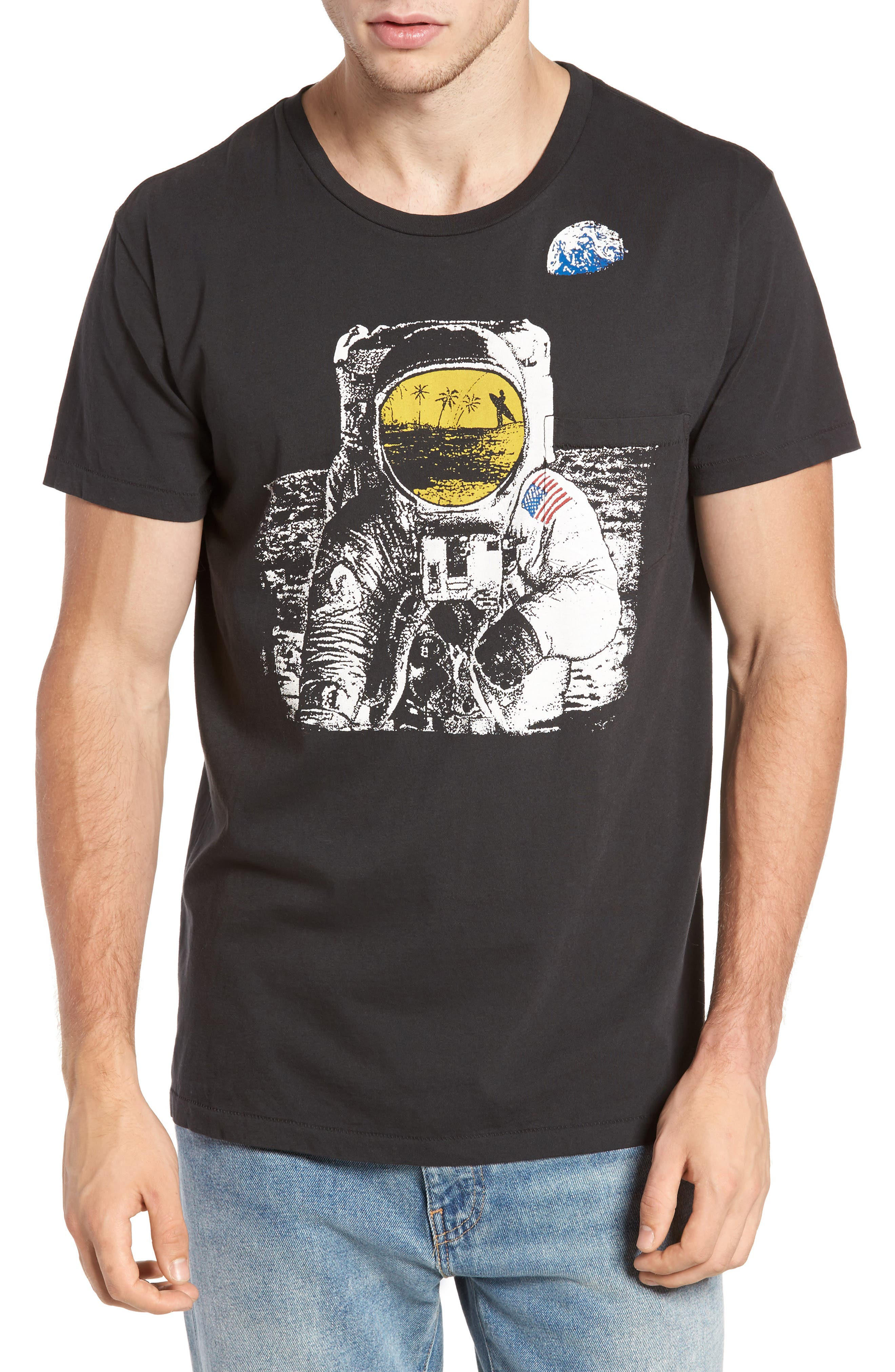 Space Dream Pocket T-Shirt,                             Main thumbnail 1, color,