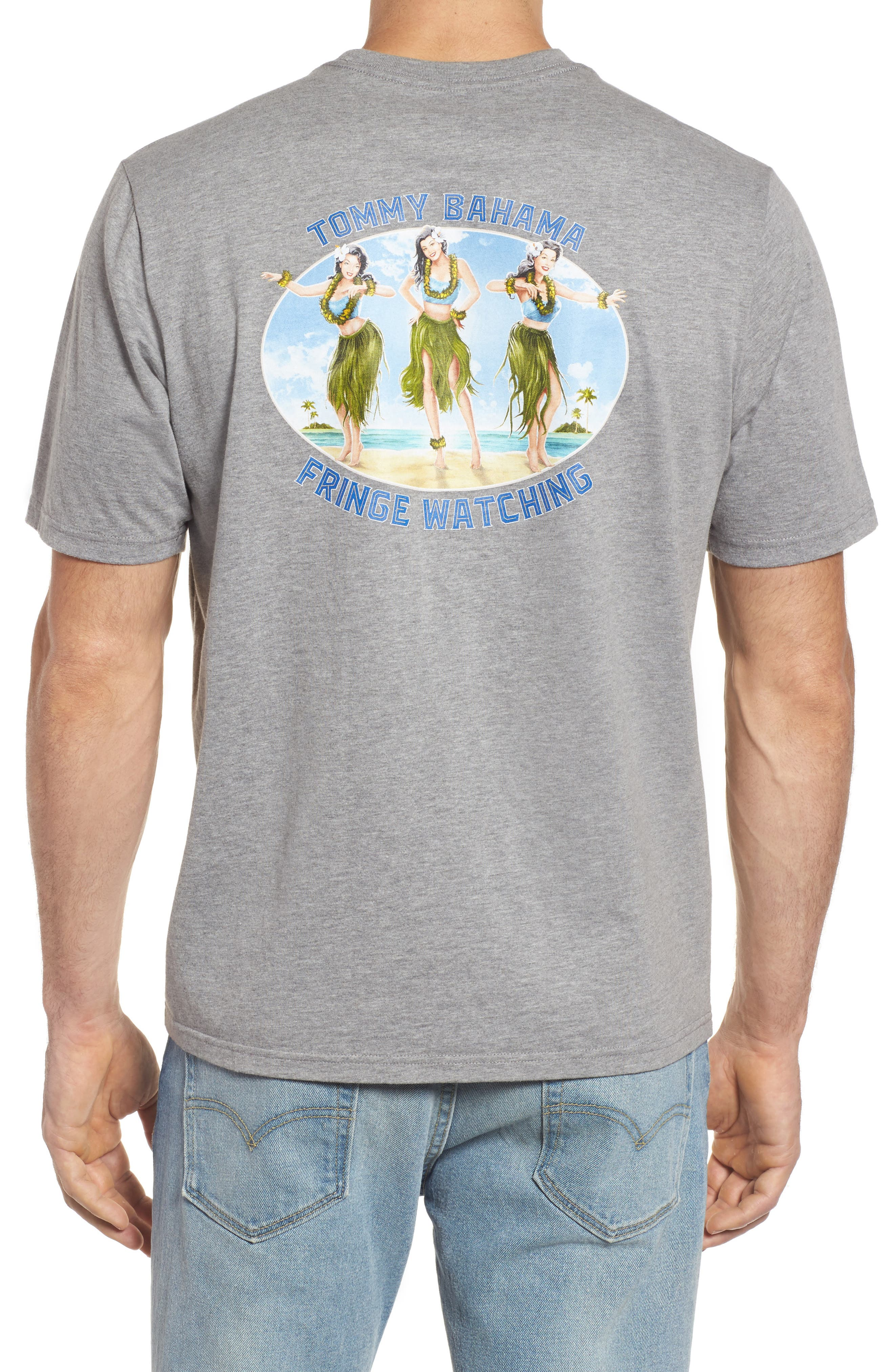 Fringe Watching Graphic T-Shirt,                             Alternate thumbnail 2, color,                             050