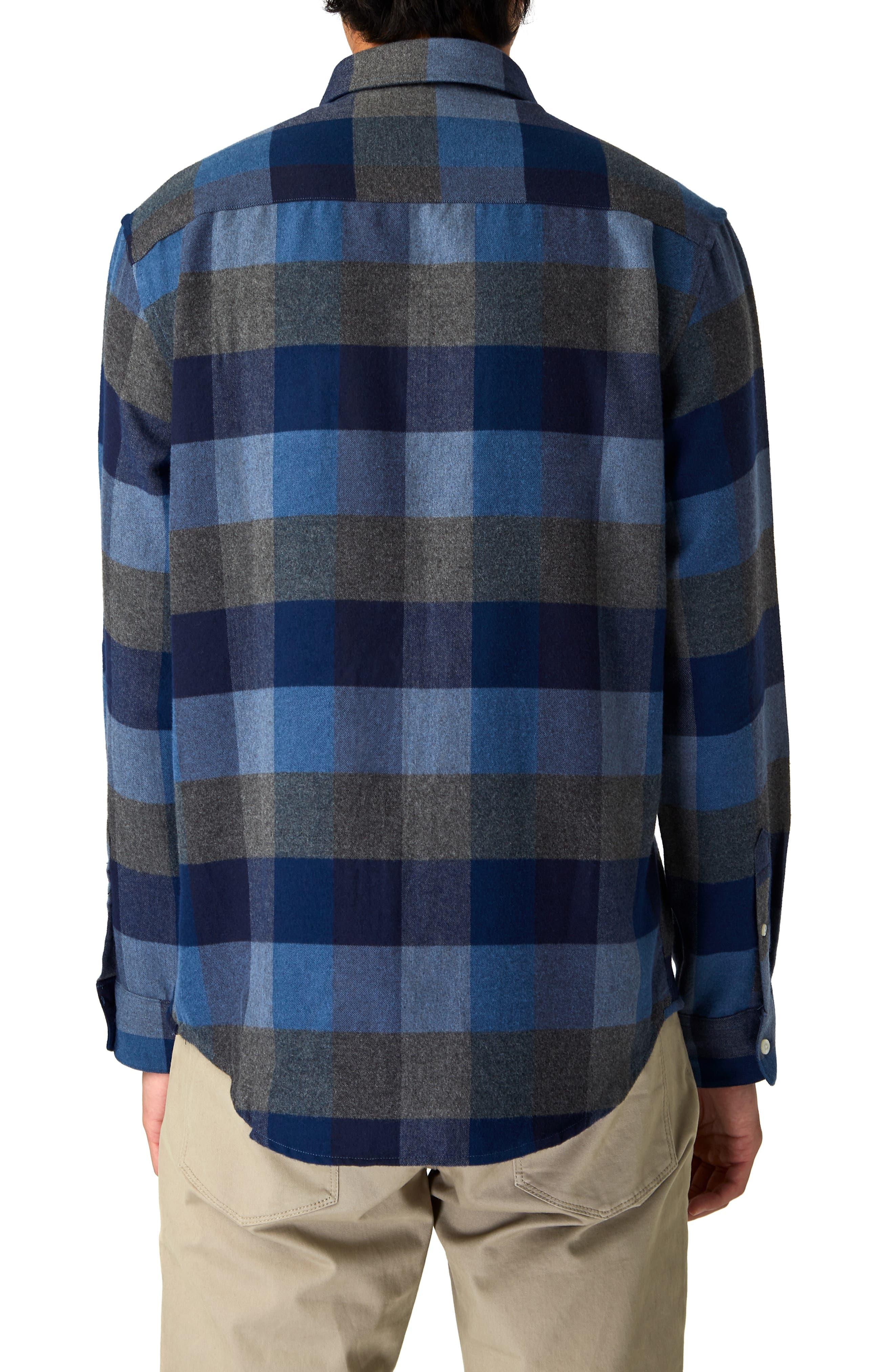 Cypress Check Sport Shirt,                             Alternate thumbnail 3, color,                             410