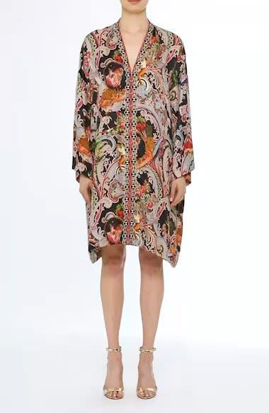 Print Caftan Dress, video thumbnail