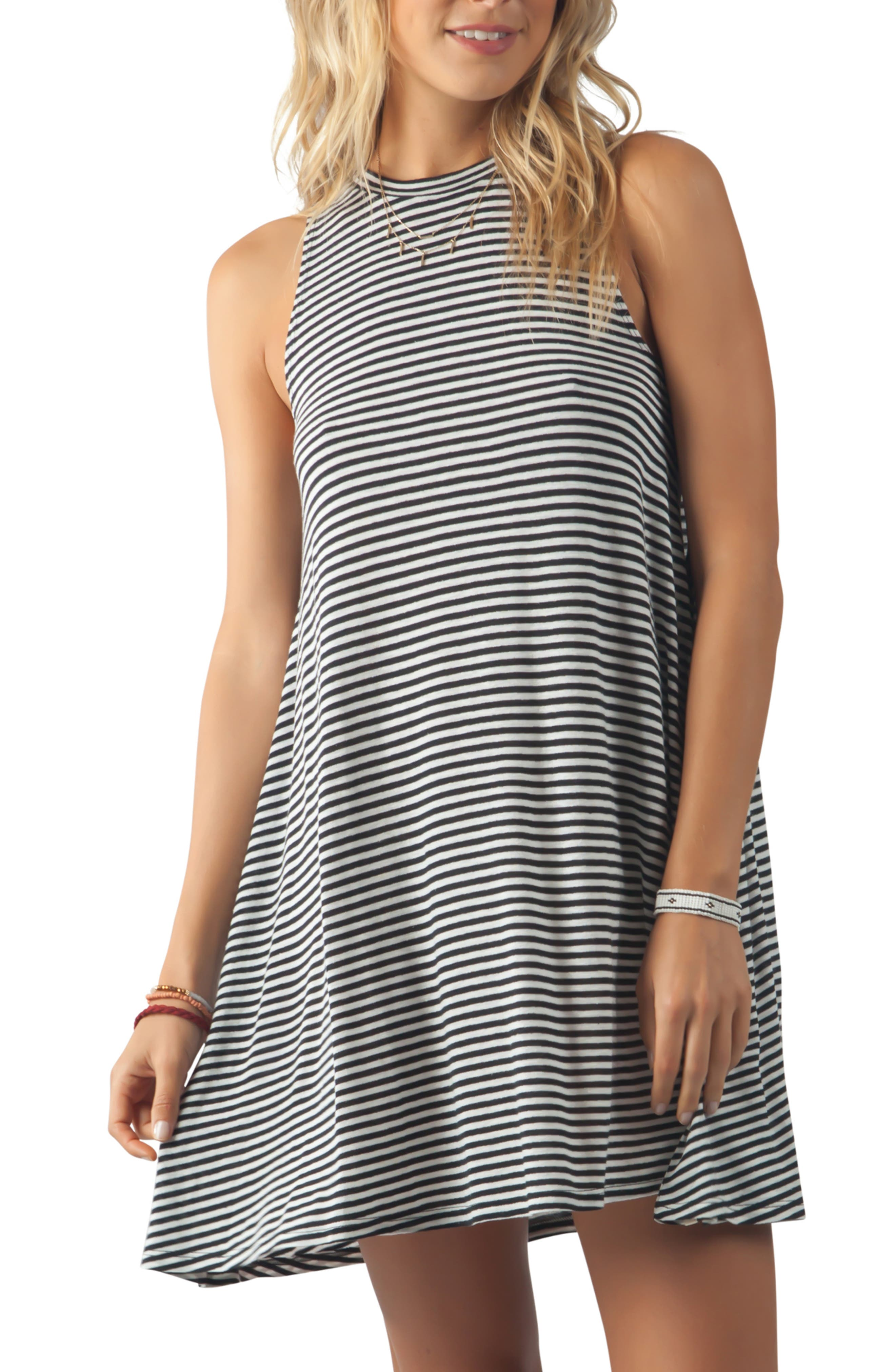 Rip Curl Surf Essentials Tank Dress, Black