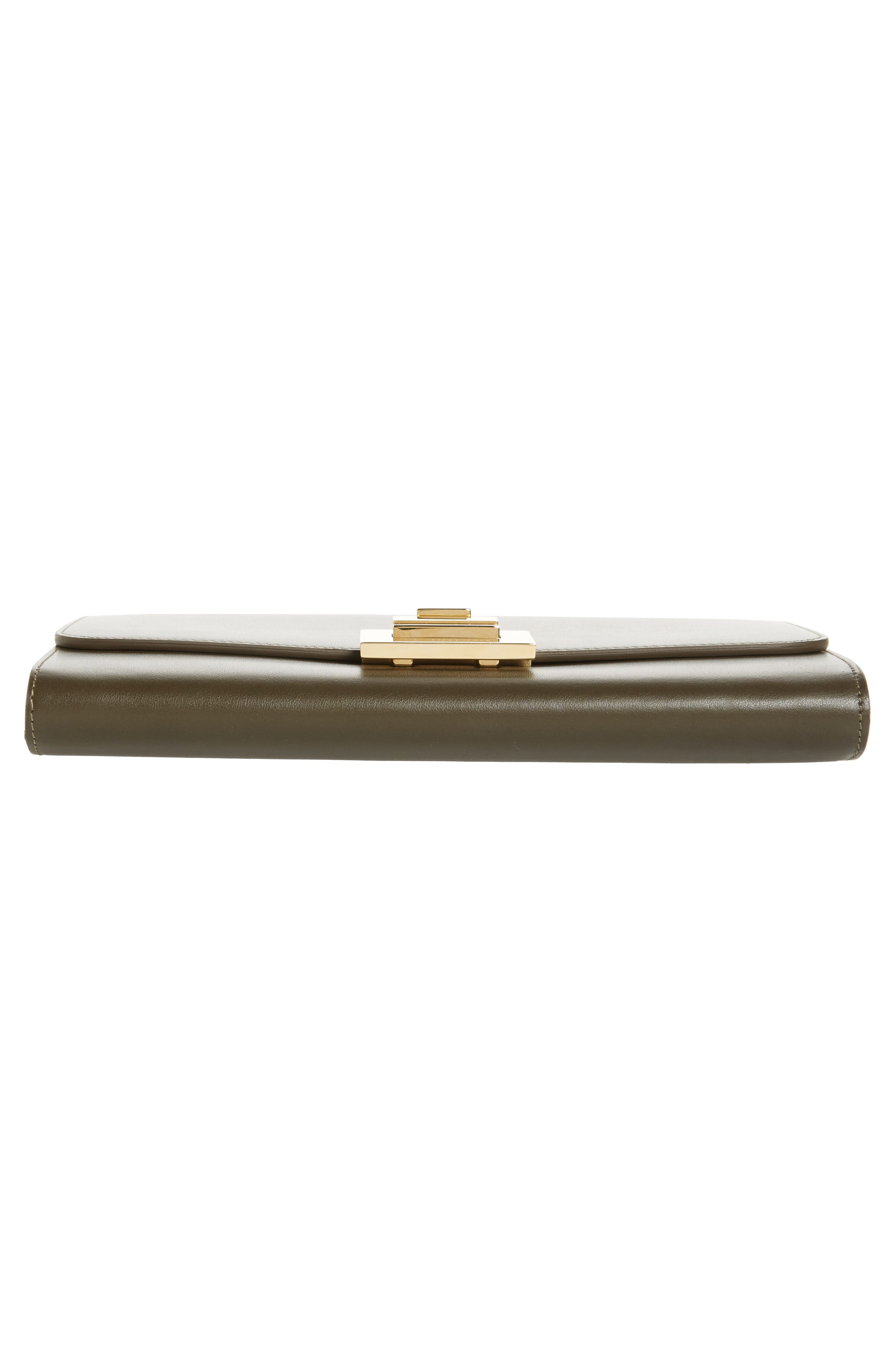 Leather Wallet on a Chain,                             Alternate thumbnail 11, color,