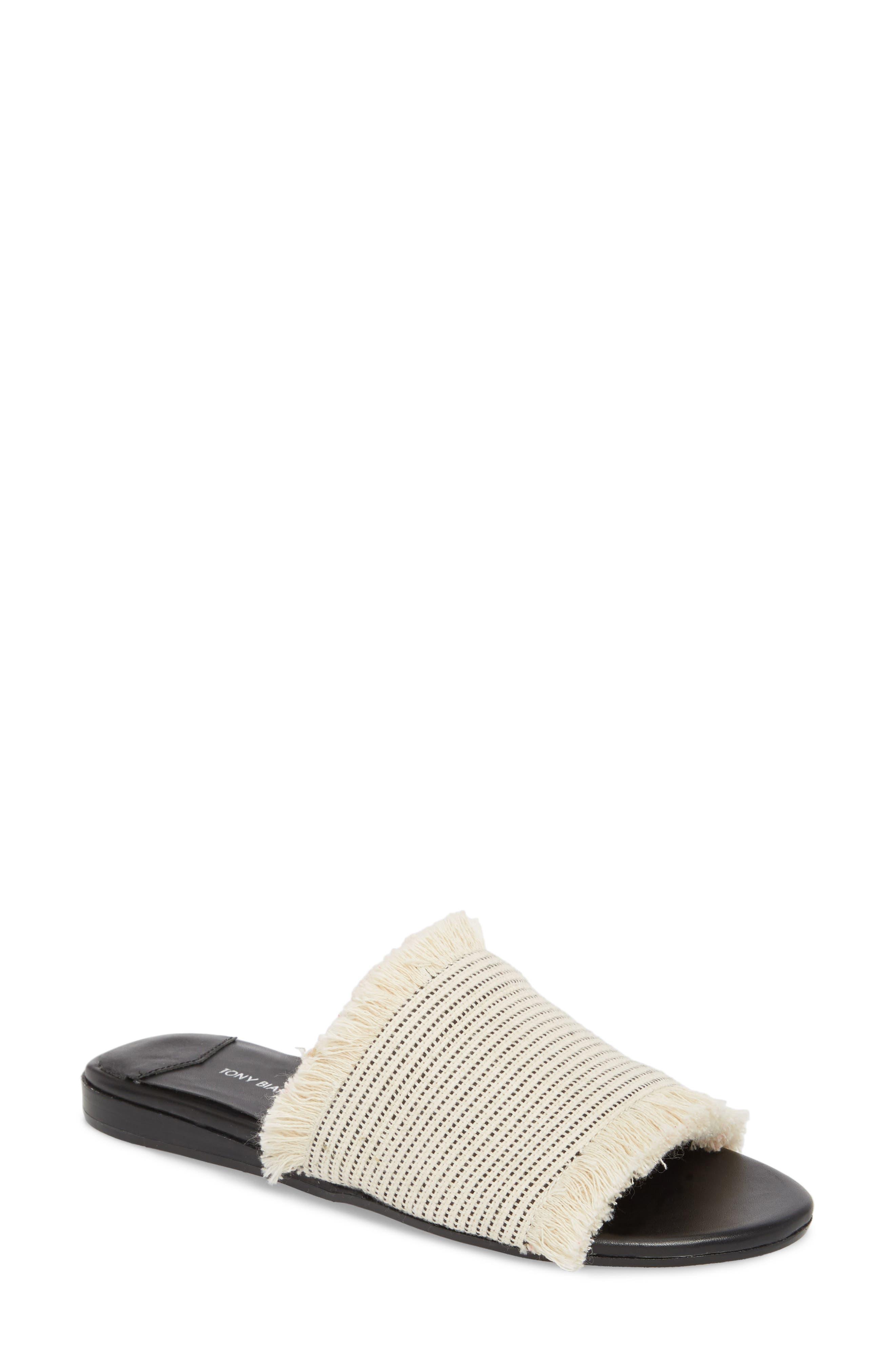 Tony Bianco Jayd Slide Sandal- White