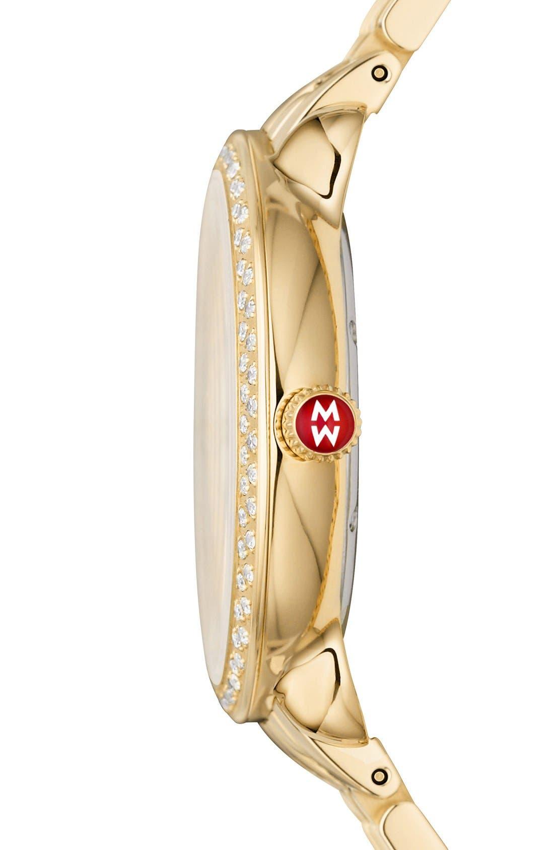 Serein 16mm Gold Plated Bracelet Watchband,                             Alternate thumbnail 7, color,                             GOLD