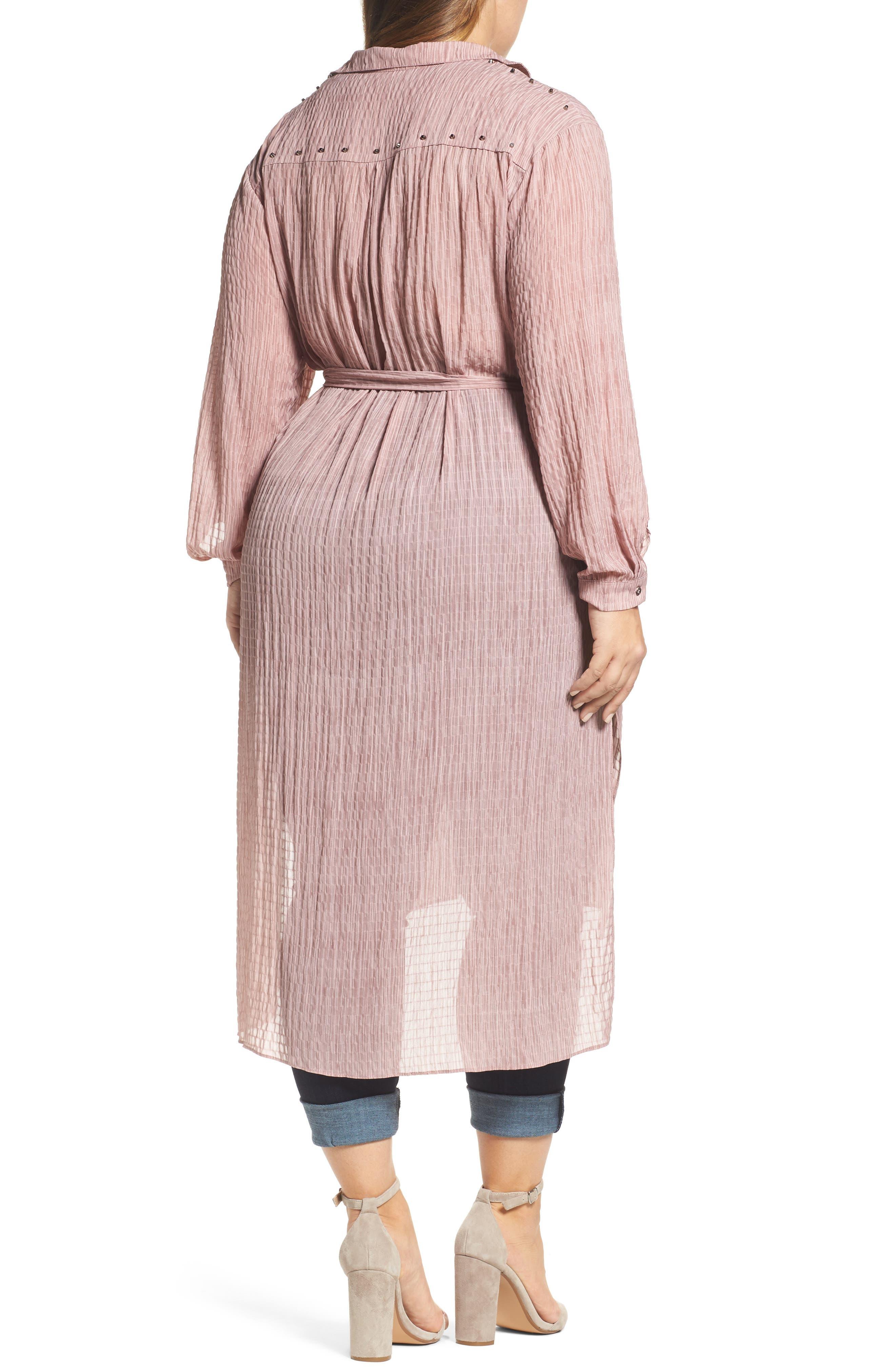 High/Low Shirtdress,                             Alternate thumbnail 2, color,                             650