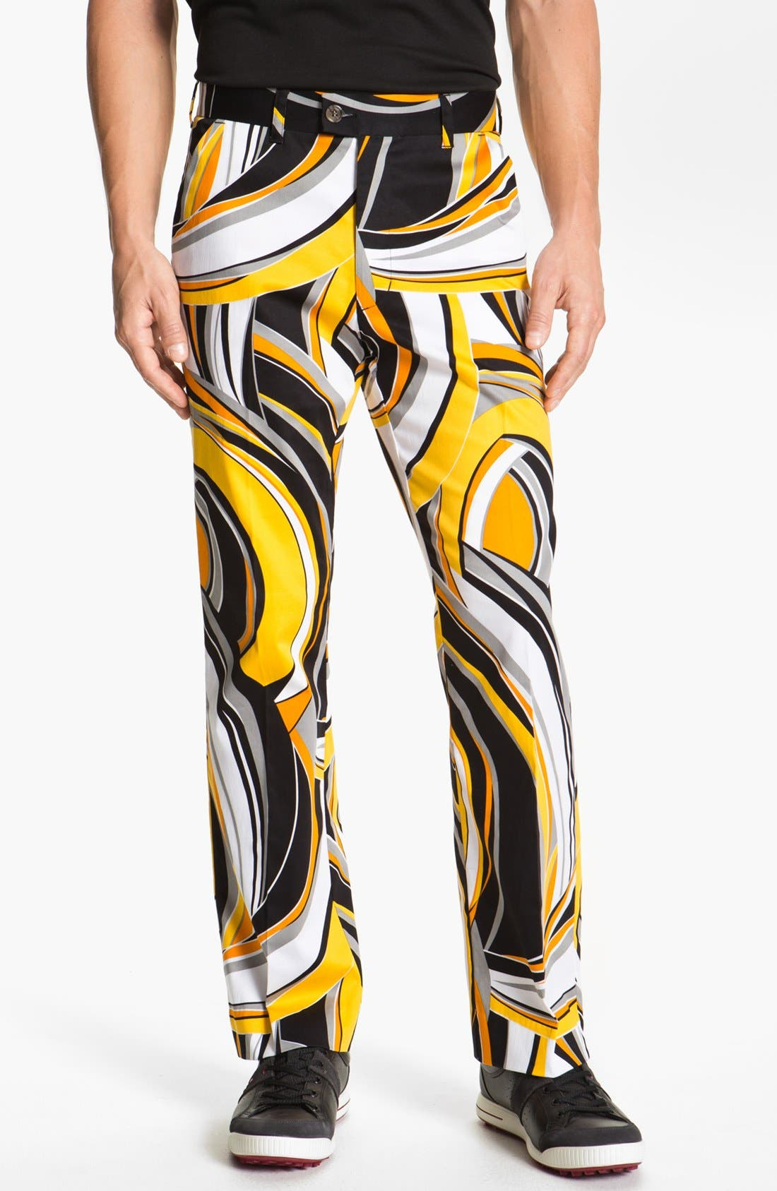 LOUD MOUTH GOLF,                             Loudmouth Golf 'Swirls Gone Wild' Golf Pants,                             Main thumbnail 1, color,                             700