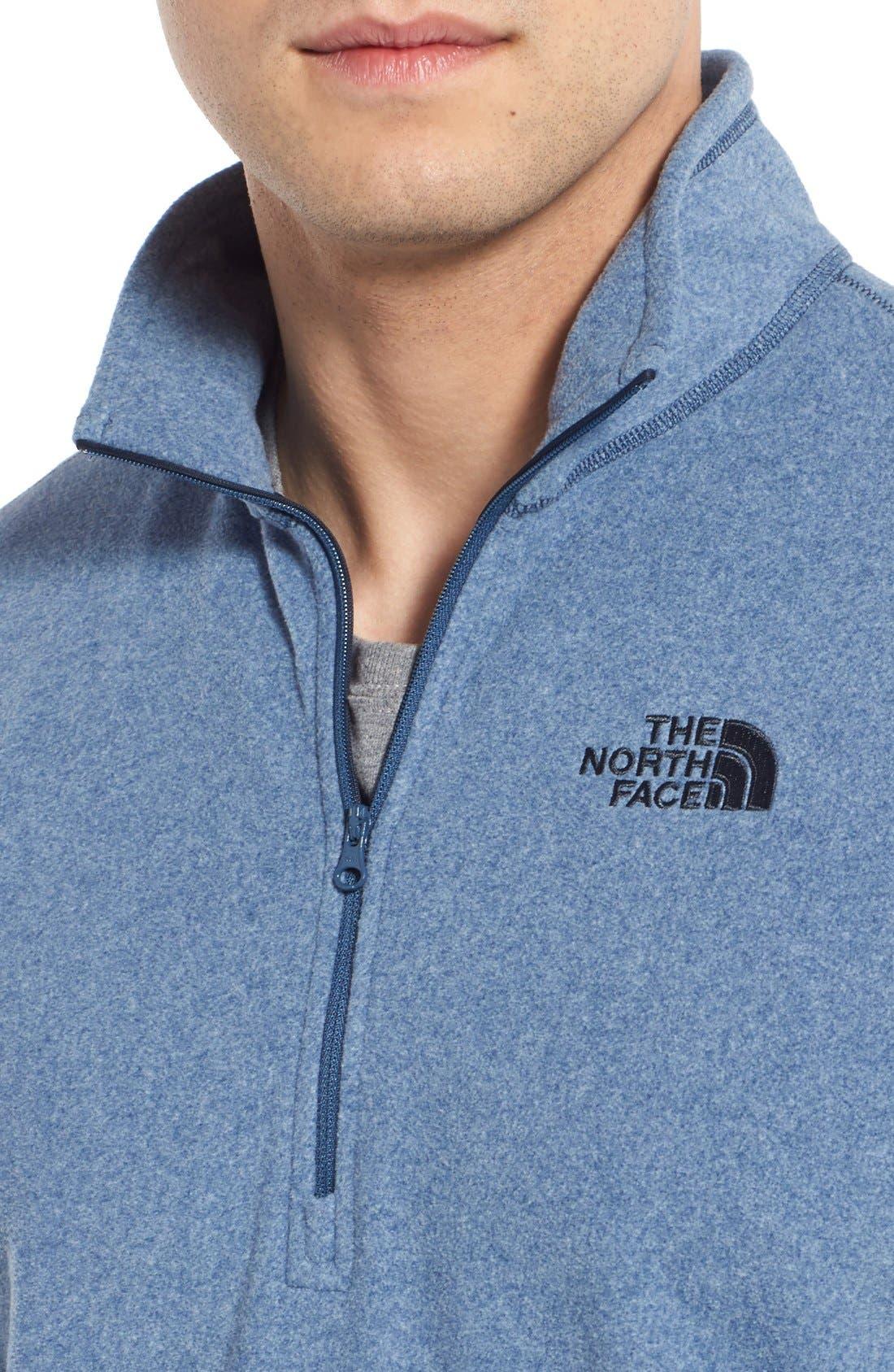 'TKA 100 Glacier' Quarter Zip Fleece Pullover,                             Alternate thumbnail 156, color,