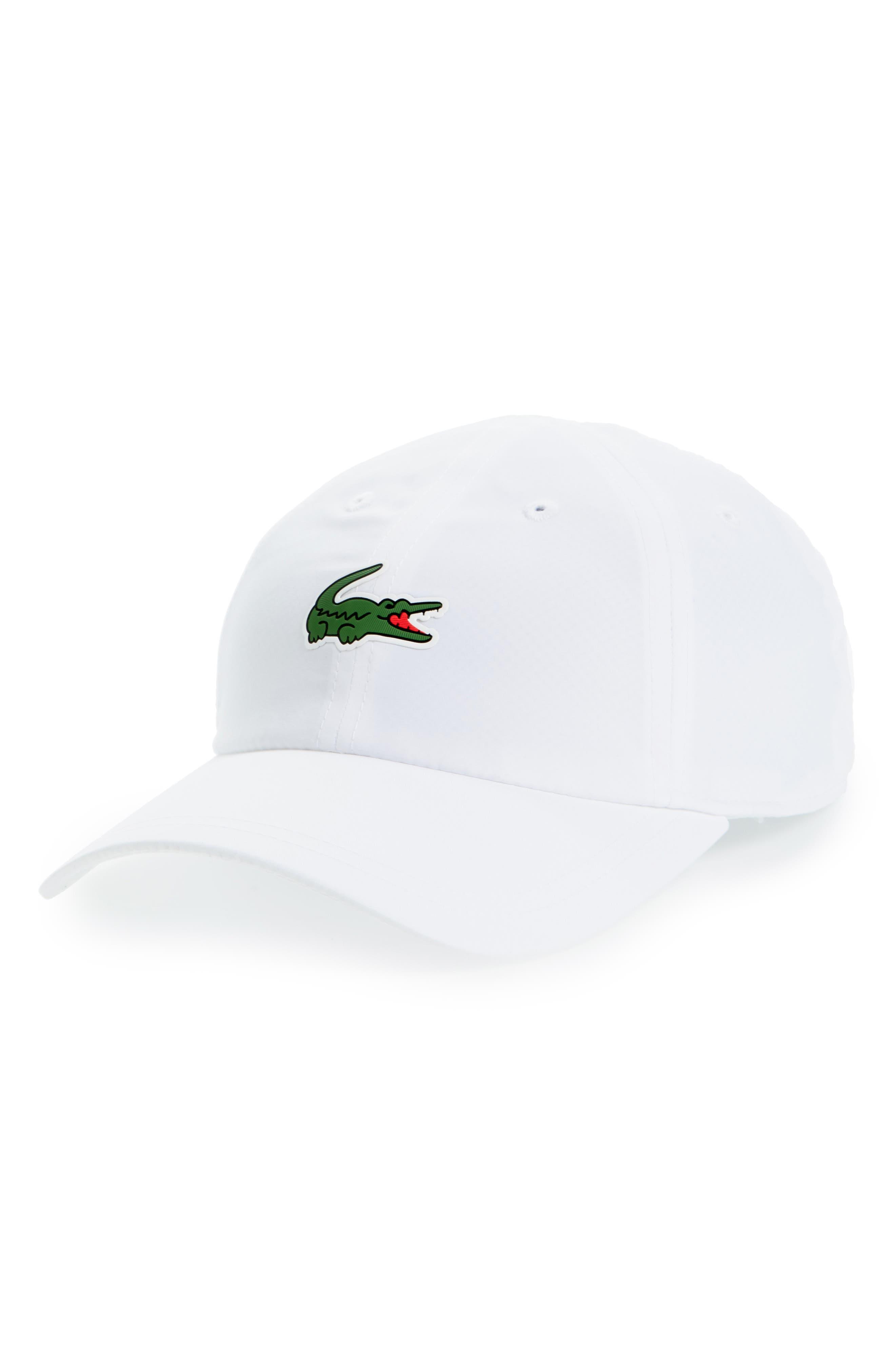 Lacoste Sport Croc Cap - White  b12c64b31194