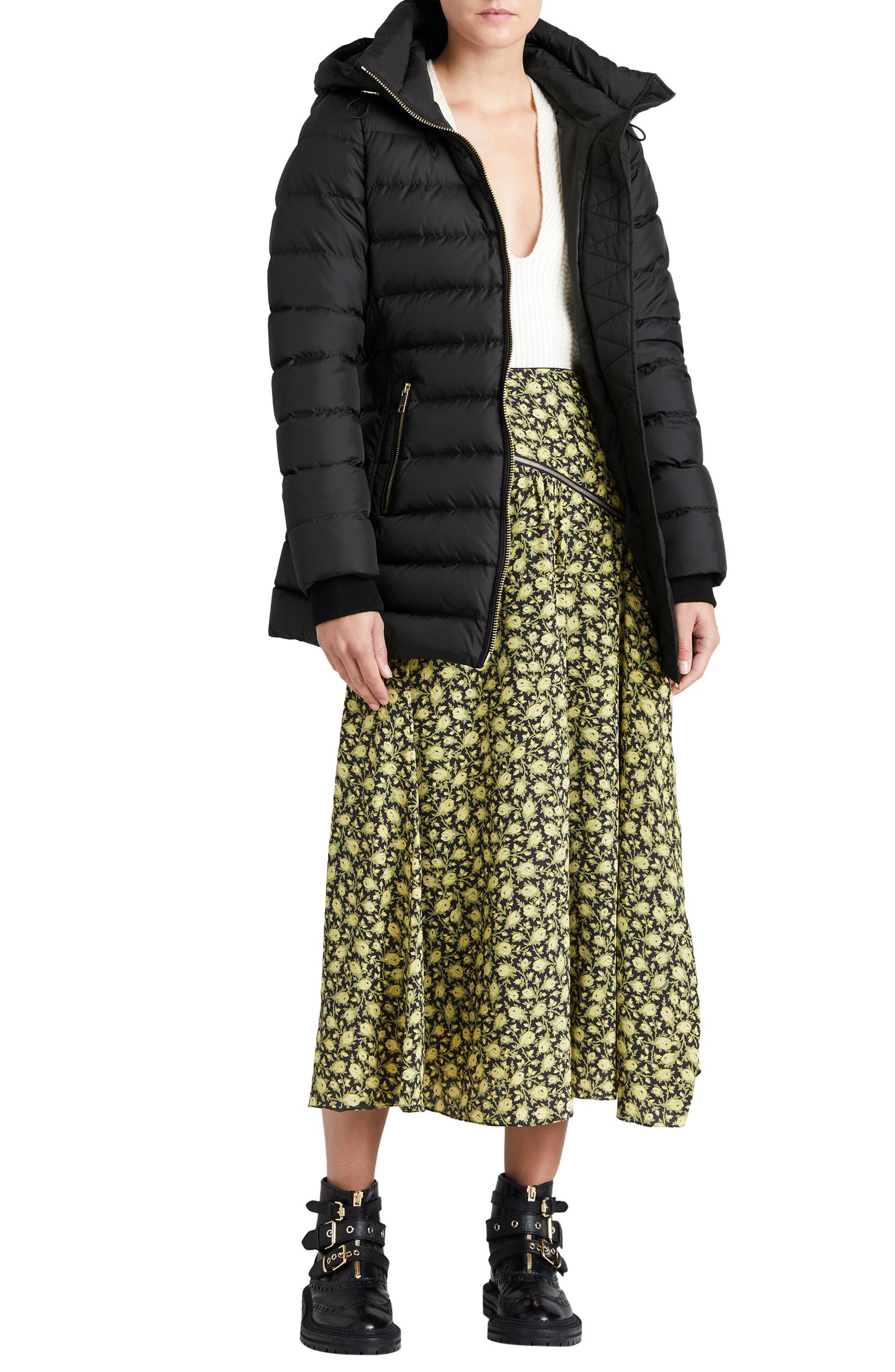Limefield Hooded Puffer Coat,                             Alternate thumbnail 9, color,                             001