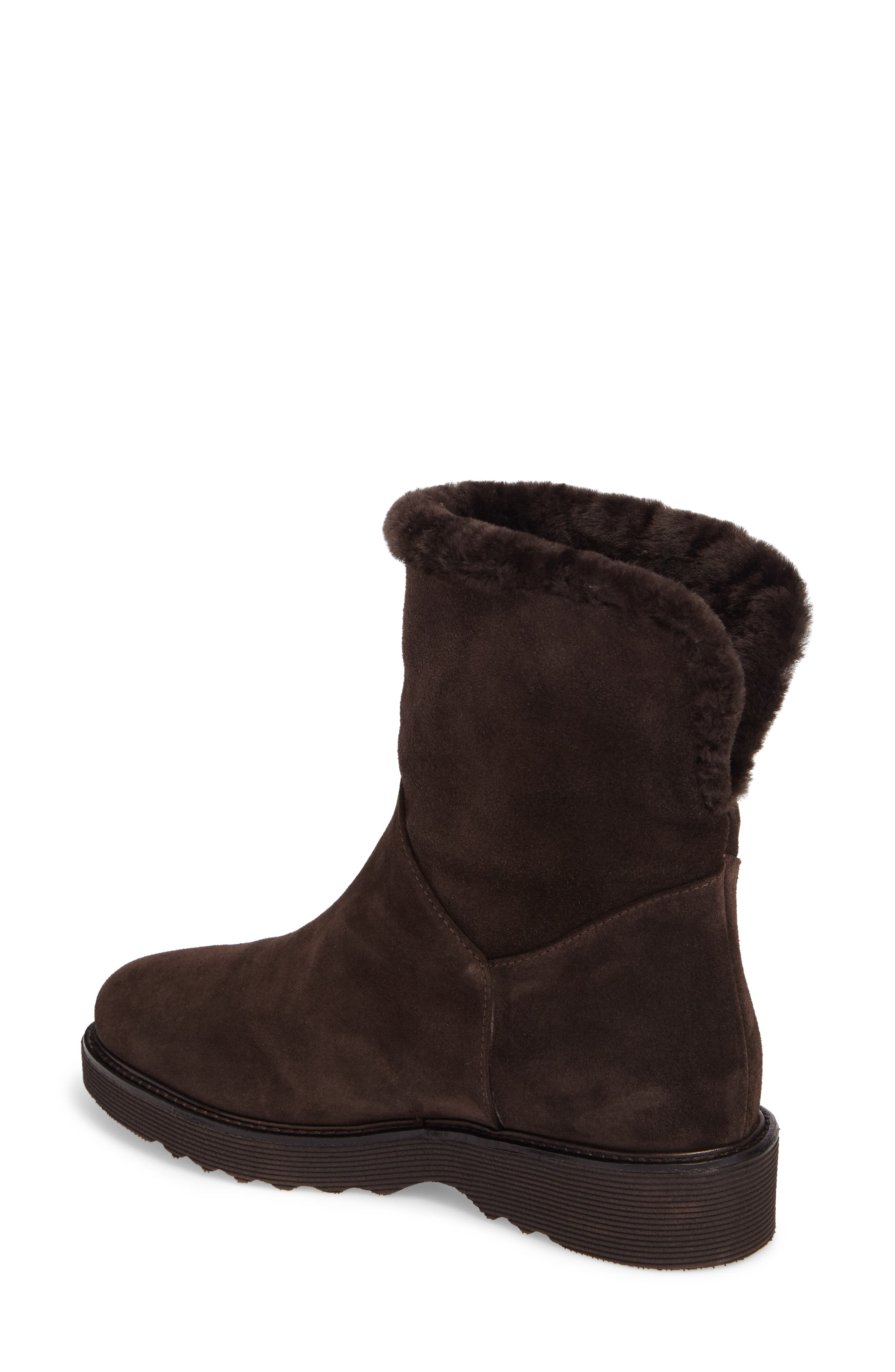 Kimberly Weatherproof Genuine Shearling Bootie,                             Alternate thumbnail 8, color,