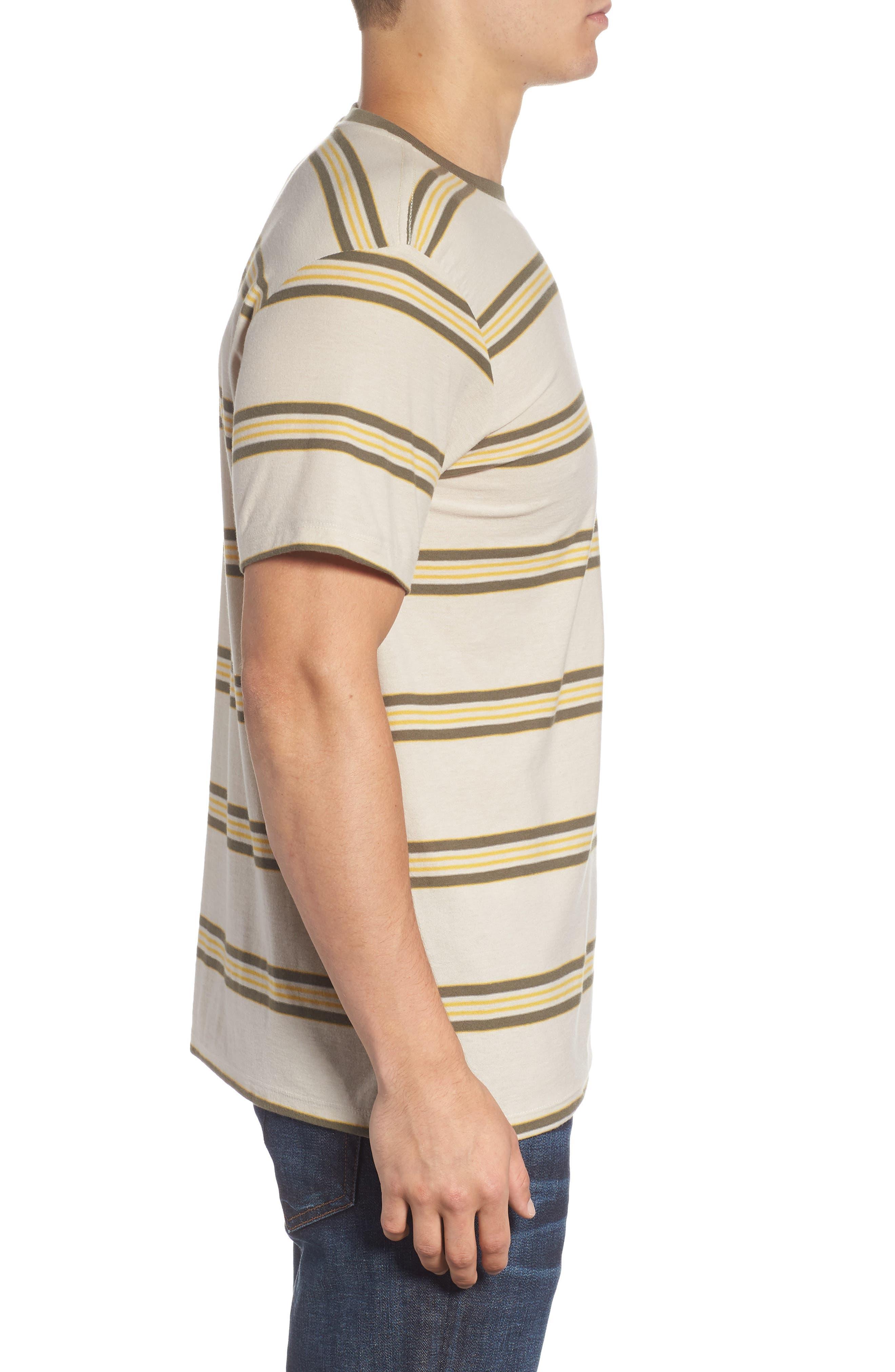 Die Cut Stripe T-Shirt,                             Alternate thumbnail 3, color,                             251