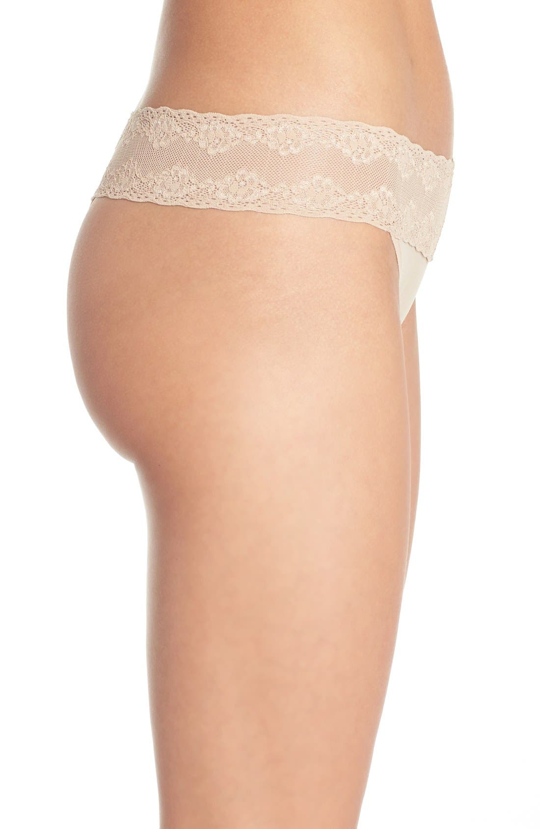 Bliss Perfection Thong,                             Alternate thumbnail 346, color,