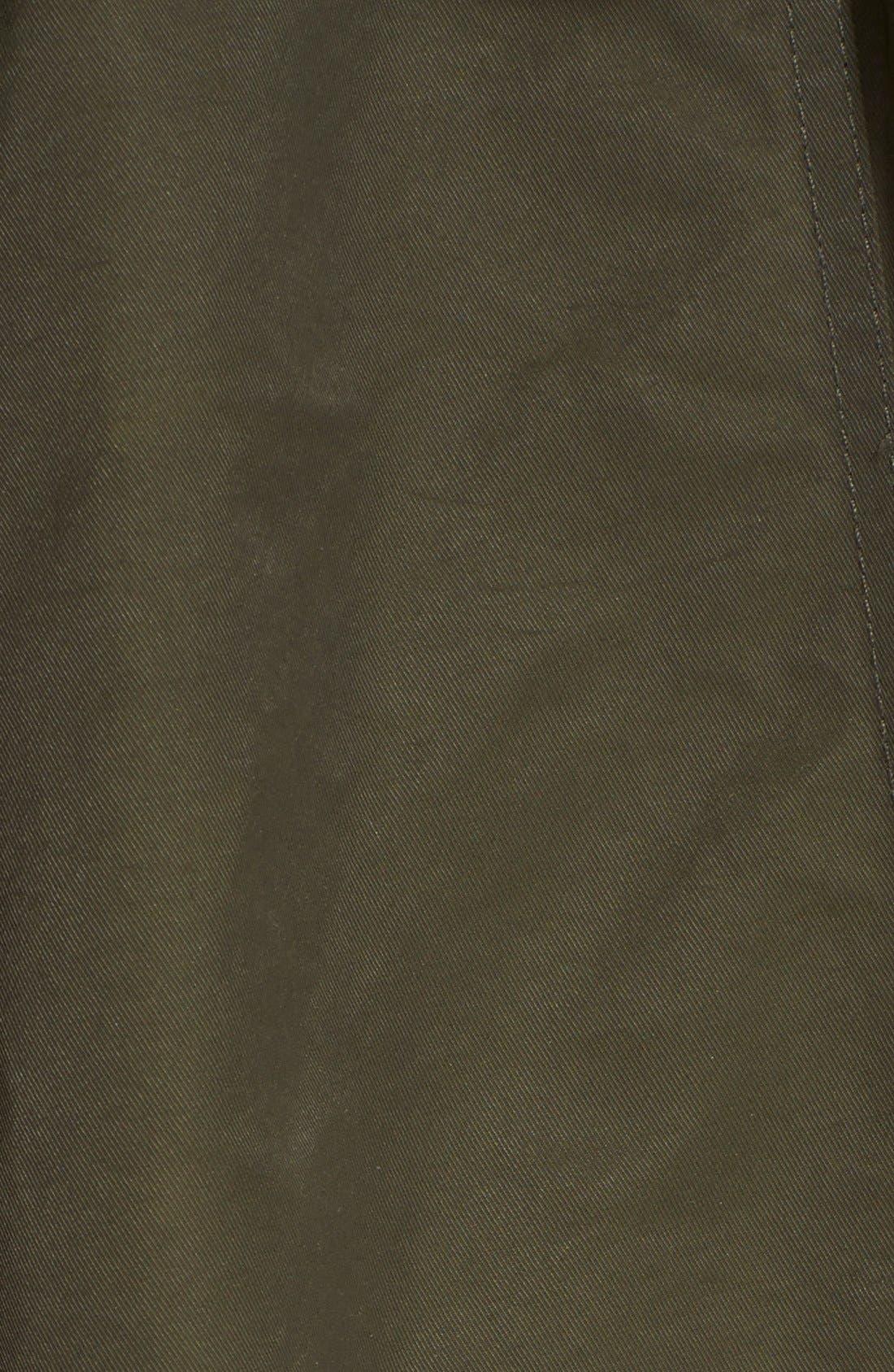 'Amory' A-Line Hooded Parka,                             Alternate thumbnail 5, color,                             301