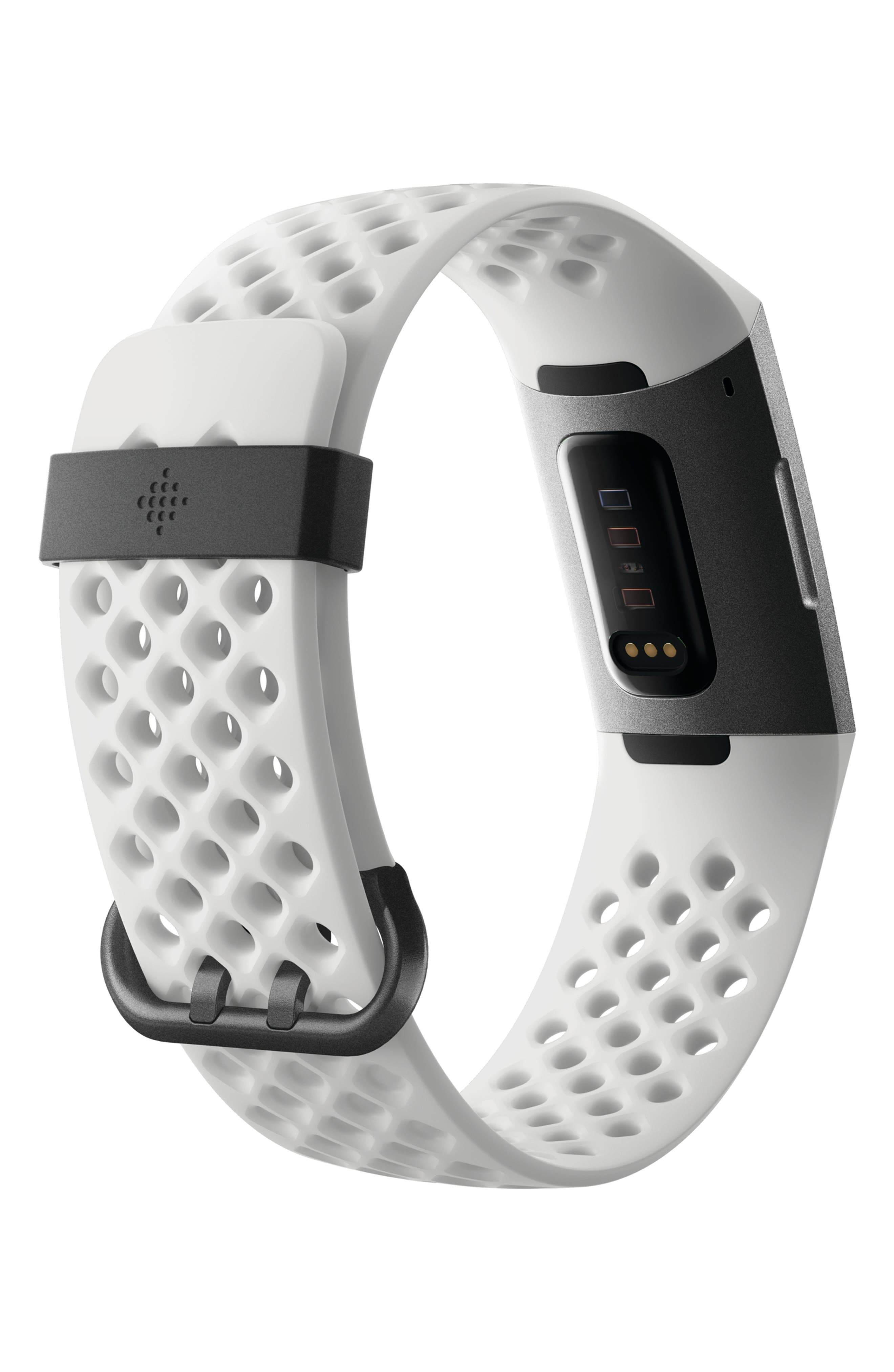 Charge 3 Special Edition Wireless Activity & Heart Rate Tracker,                             Alternate thumbnail 2, color,                             WHITE