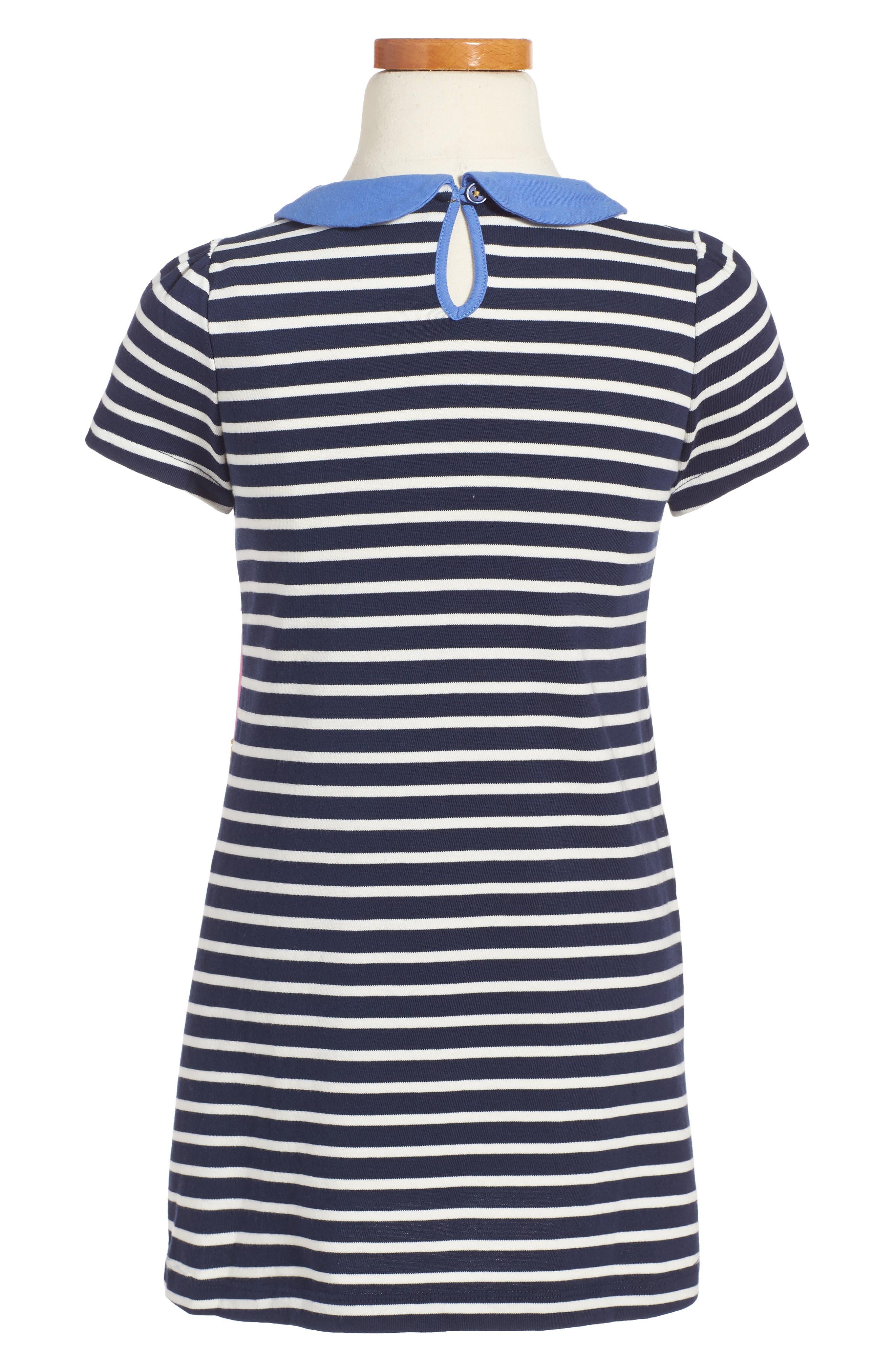Fun Appliqué Jersey Dress,                             Alternate thumbnail 2, color,                             414