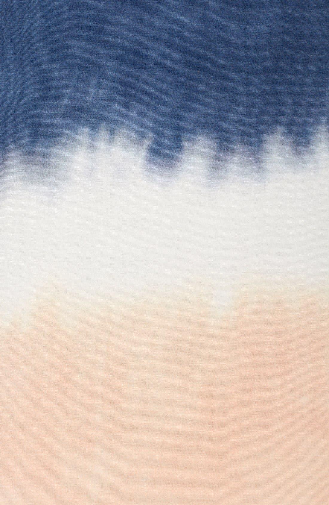 Tie Dye Sleeveless Maxi Dress,                             Alternate thumbnail 9, color,                             400