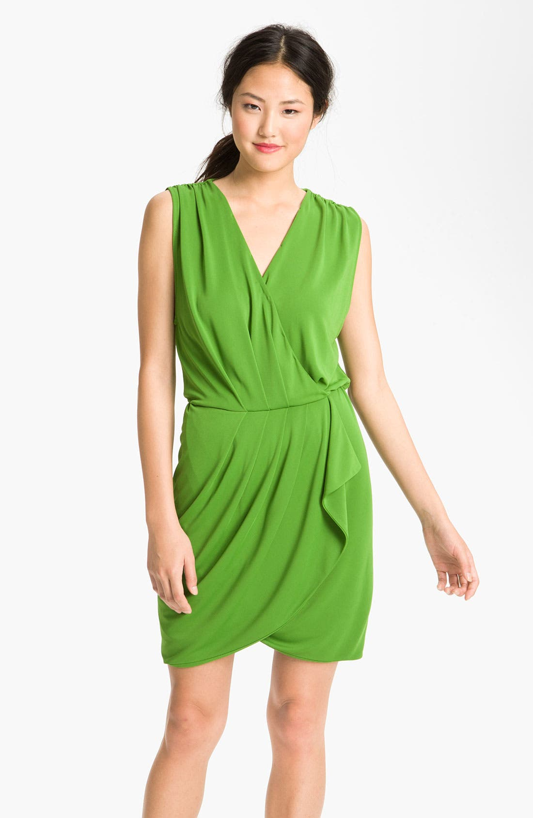 Faux Wrap Dress,                             Main thumbnail 1, color,                             327