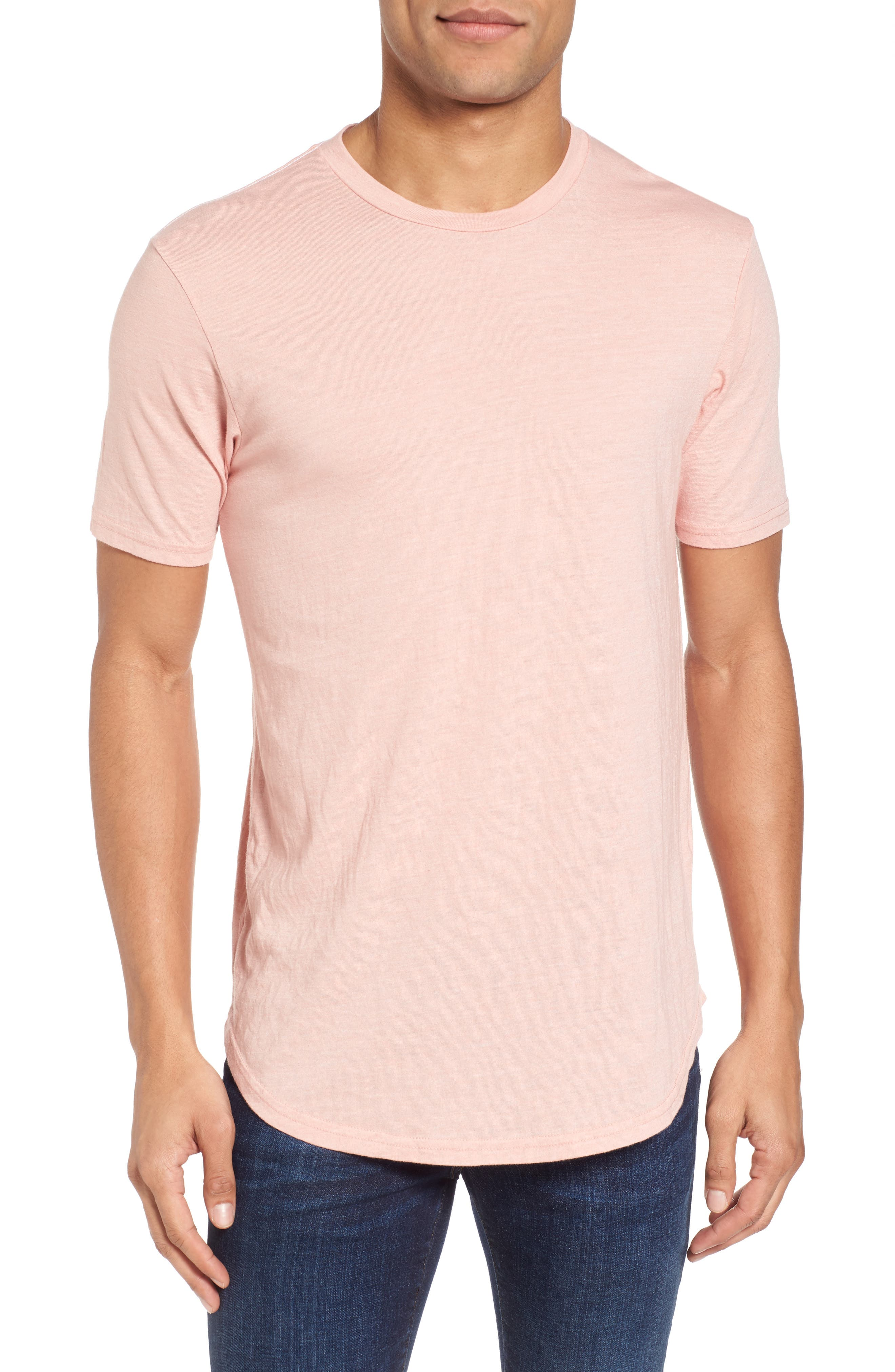 Scallop Triblend Crewneck T-Shirt,                             Main thumbnail 12, color,