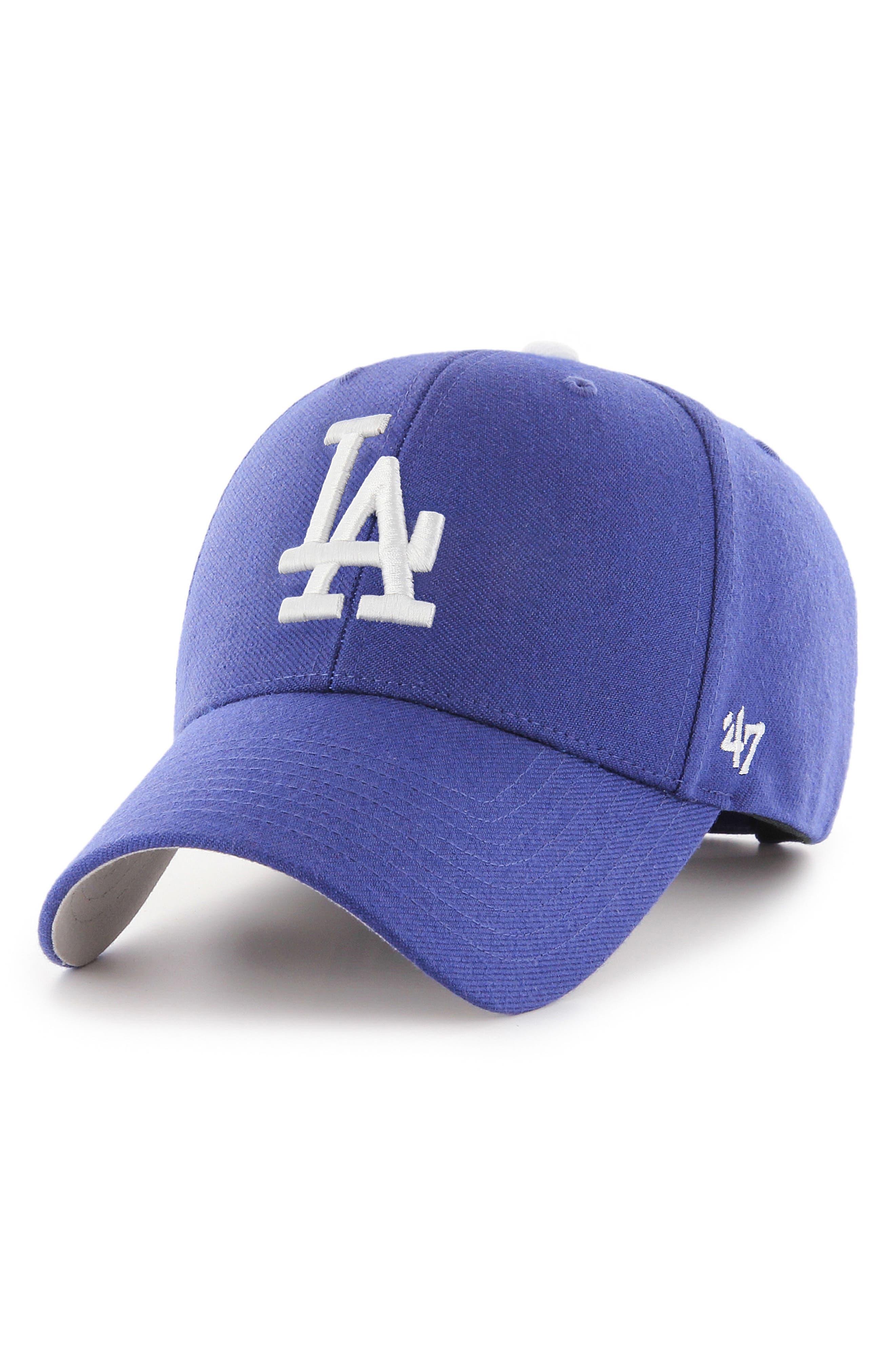 LA Dodgers MVP Baseball Cap,                         Main,                         color, BLUE