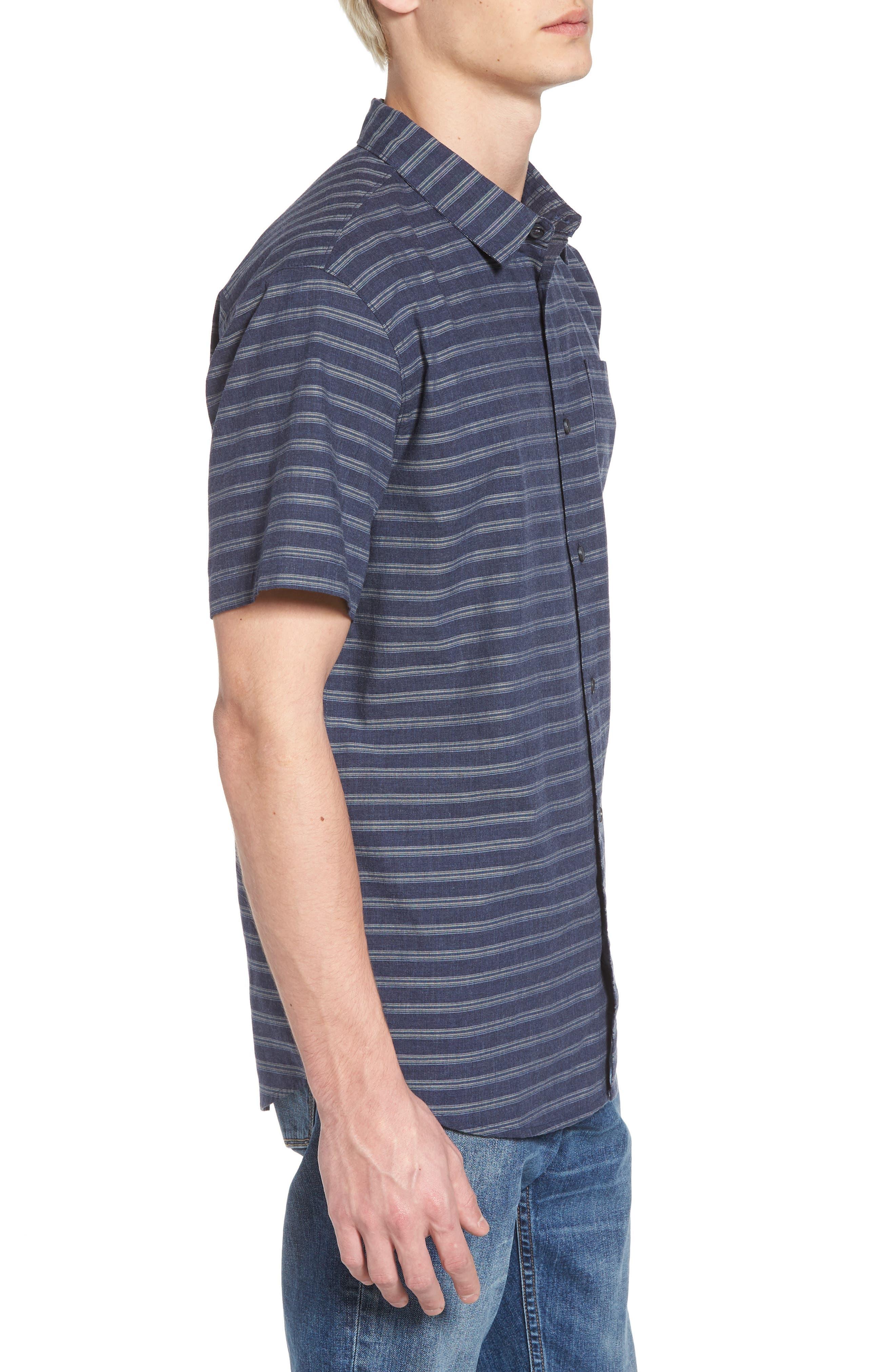 Stag Short Sleeve Shirt,                             Alternate thumbnail 3, color,