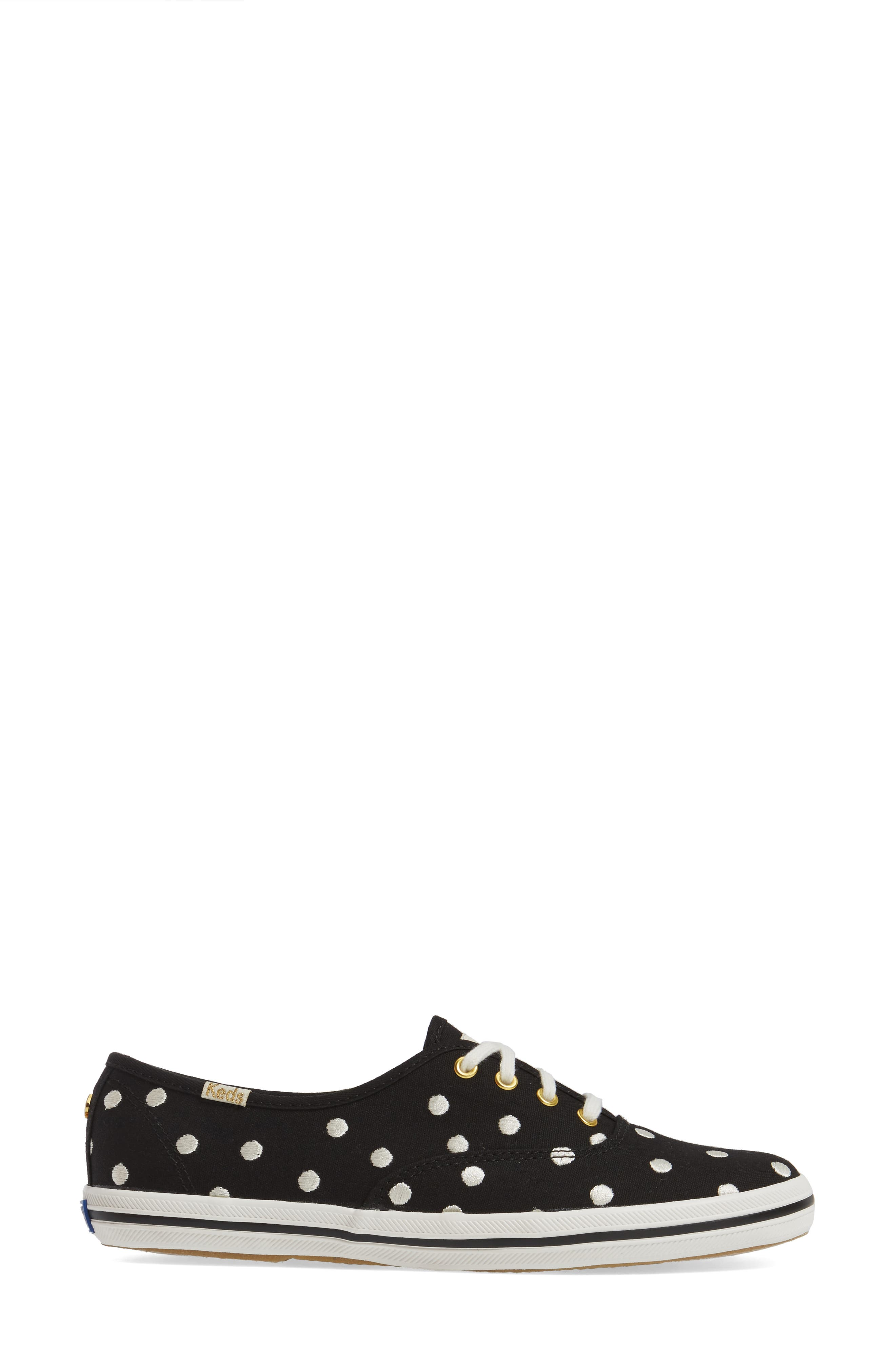 Keds<sup>®</sup> x kate spade new york champion sneaker,                             Alternate thumbnail 9, color,