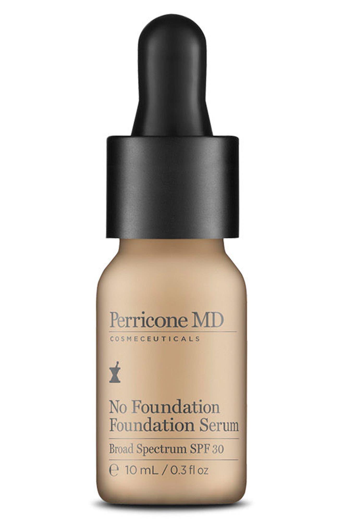 'No Foundation' Foundation Serum Broad Spectrum SPF 30,                         Main,                         color, NO COLOR