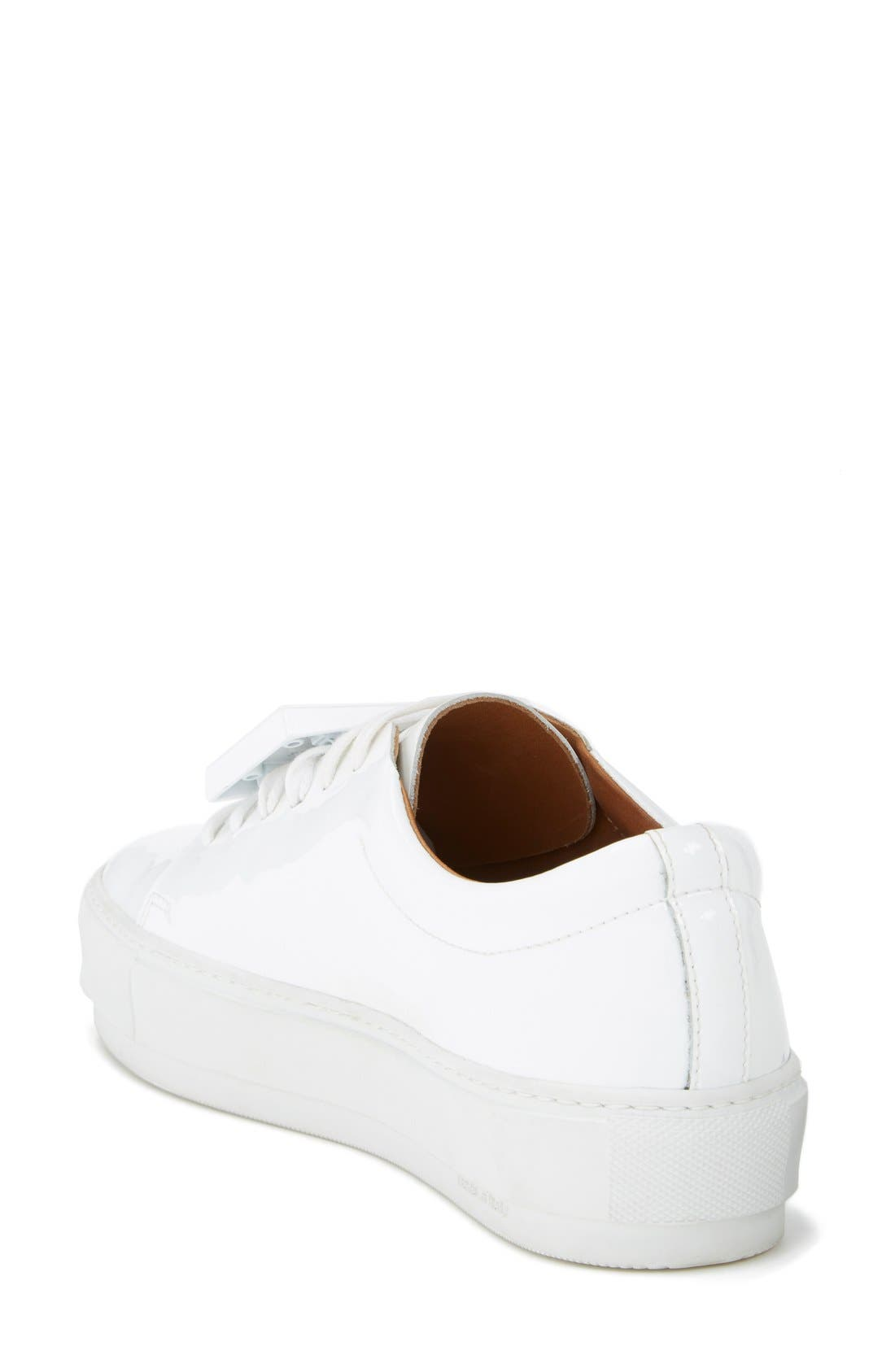 Adriana Leather Sneaker,                             Alternate thumbnail 2, color,                             100