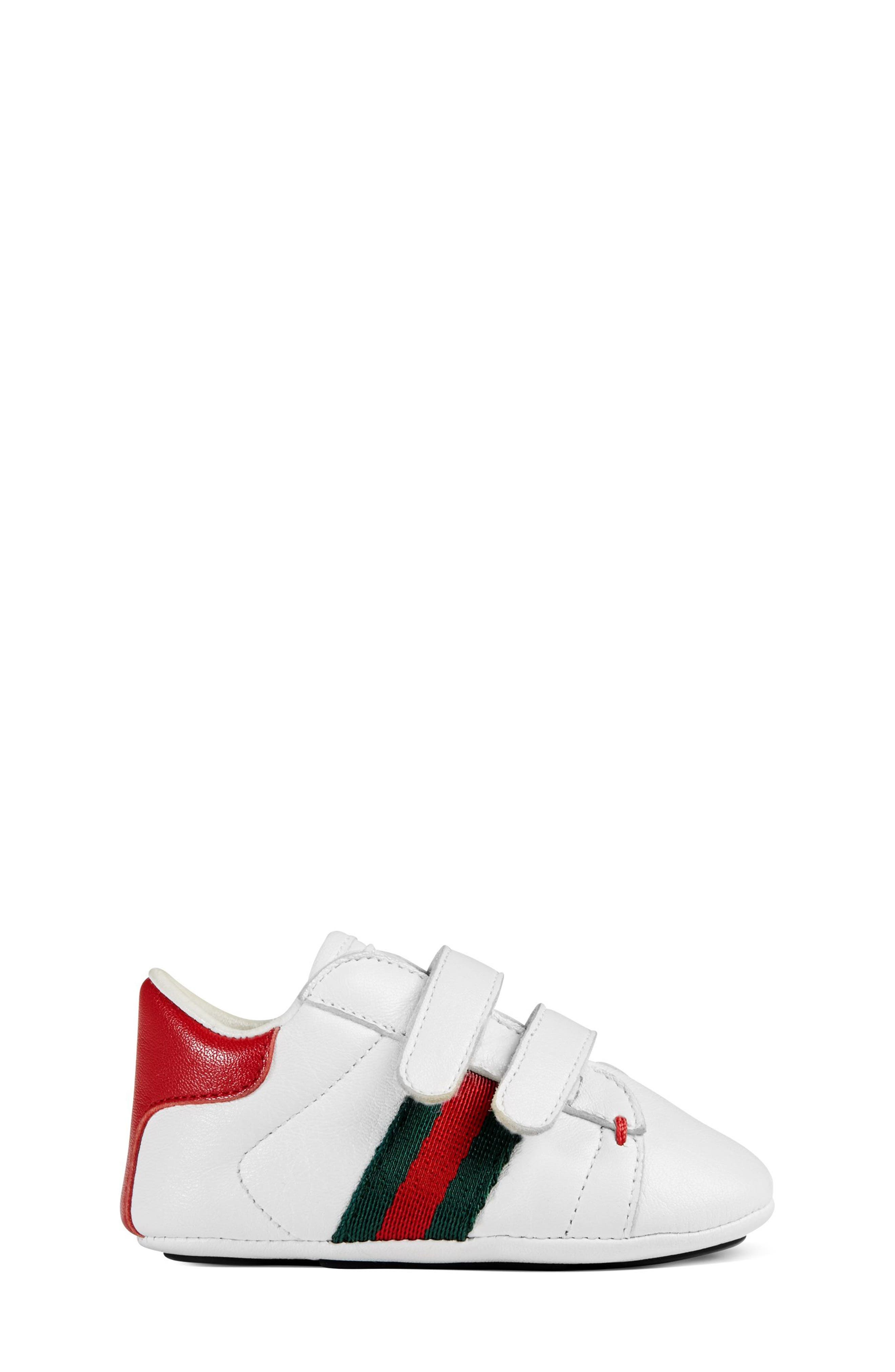 'Ace' Crib Shoe,                             Alternate thumbnail 2, color,                             100